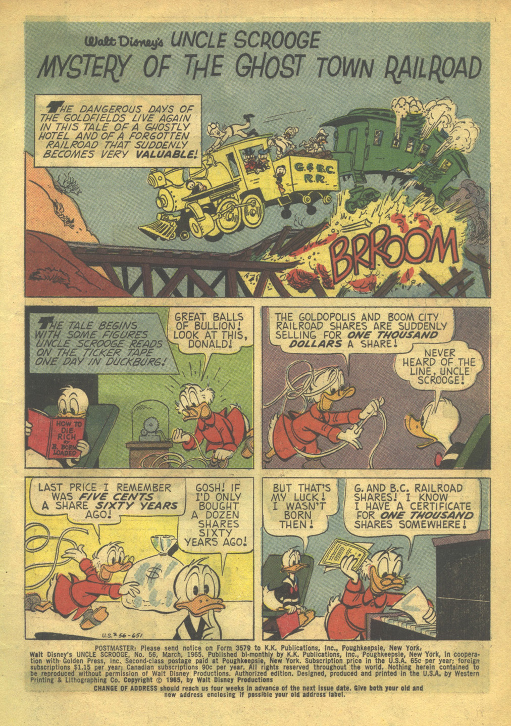 Uncle Scrooge (1953) Issue #56 #56 - English 3