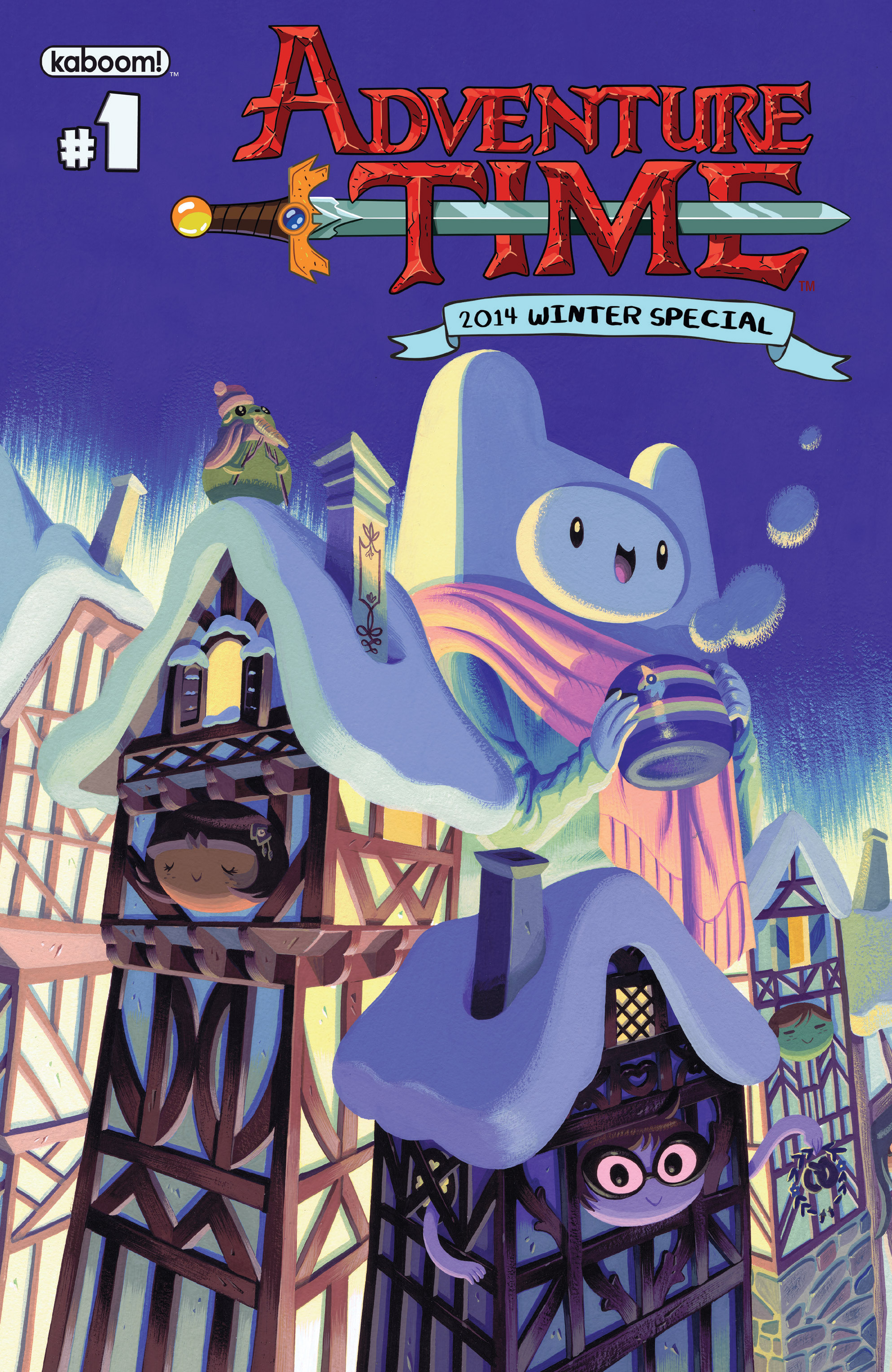 Adventure Time 2014 Winter Special Full Page 1