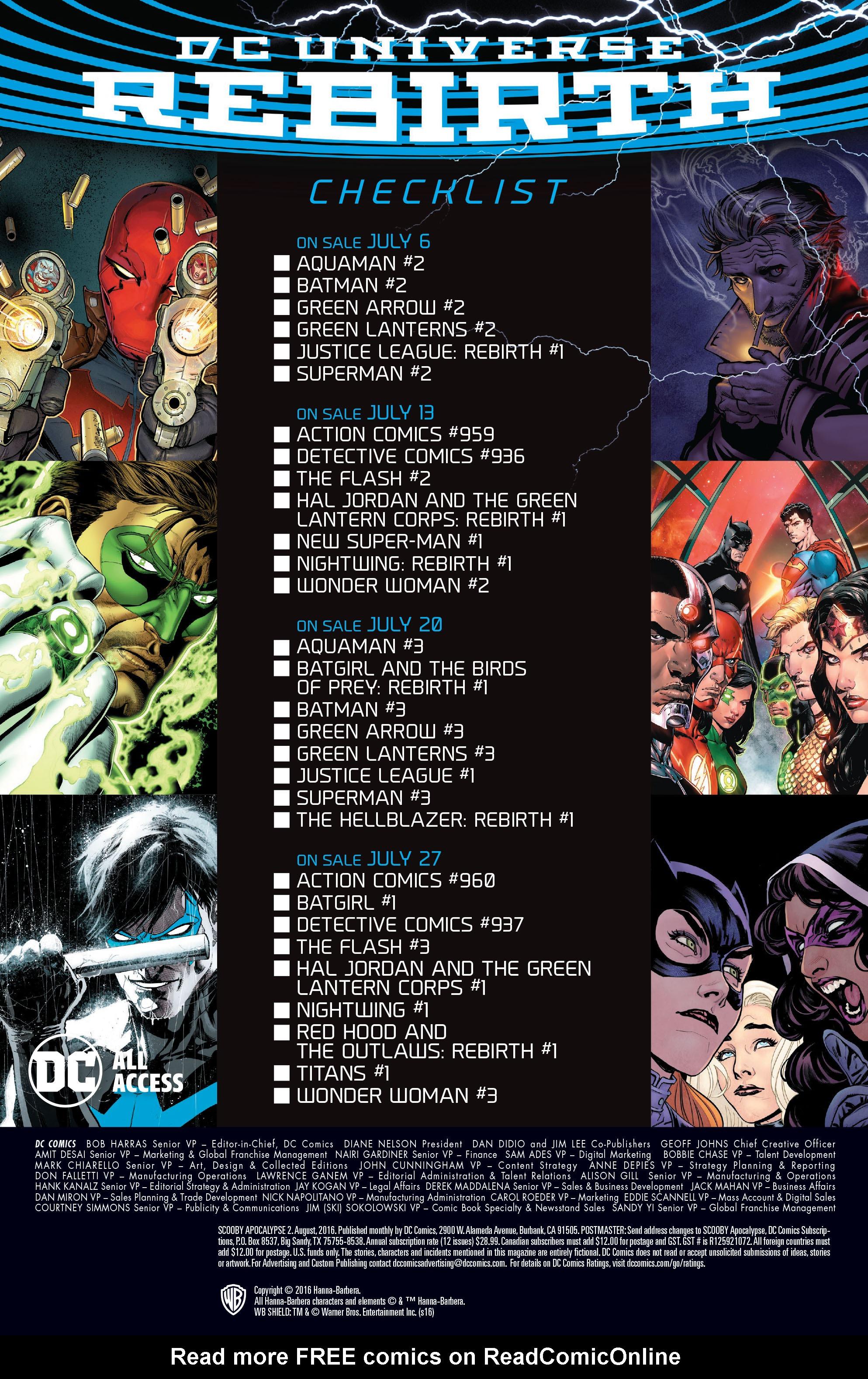Read online Scooby Apocalypse comic -  Issue #2 - 27
