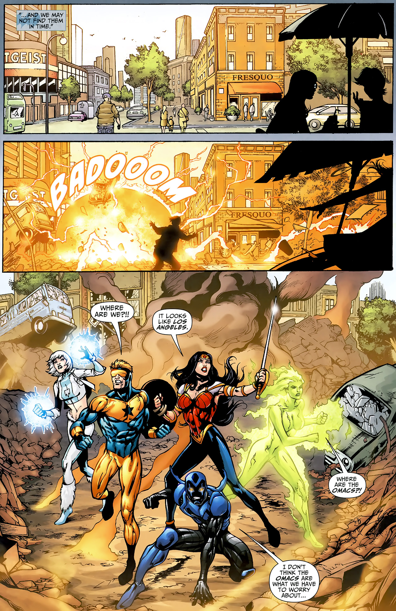 Read online Justice League: Generation Lost comic -  Issue #23 - 10