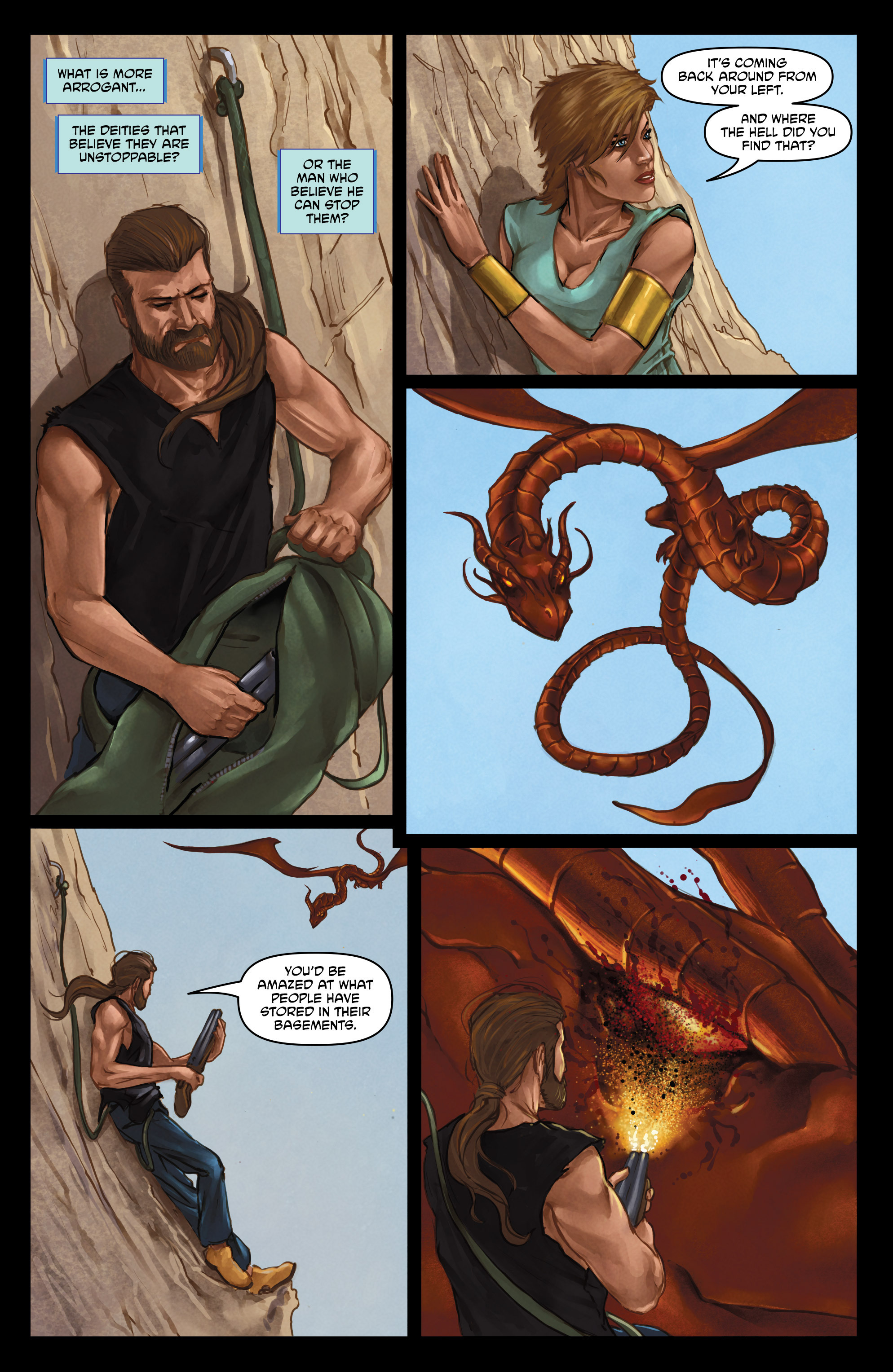 Read online God Is Dead comic -  Issue #47 - 20