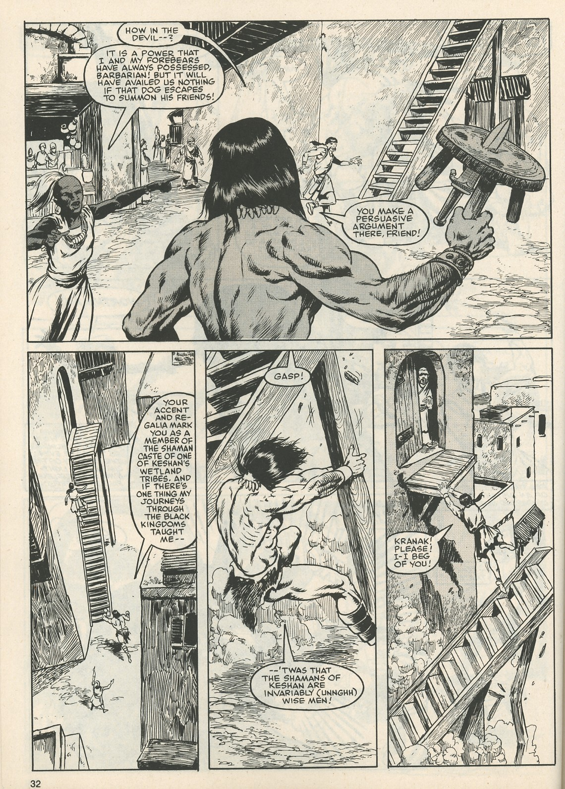 The Savage Sword Of Conan Issue #111 #112 - English 33