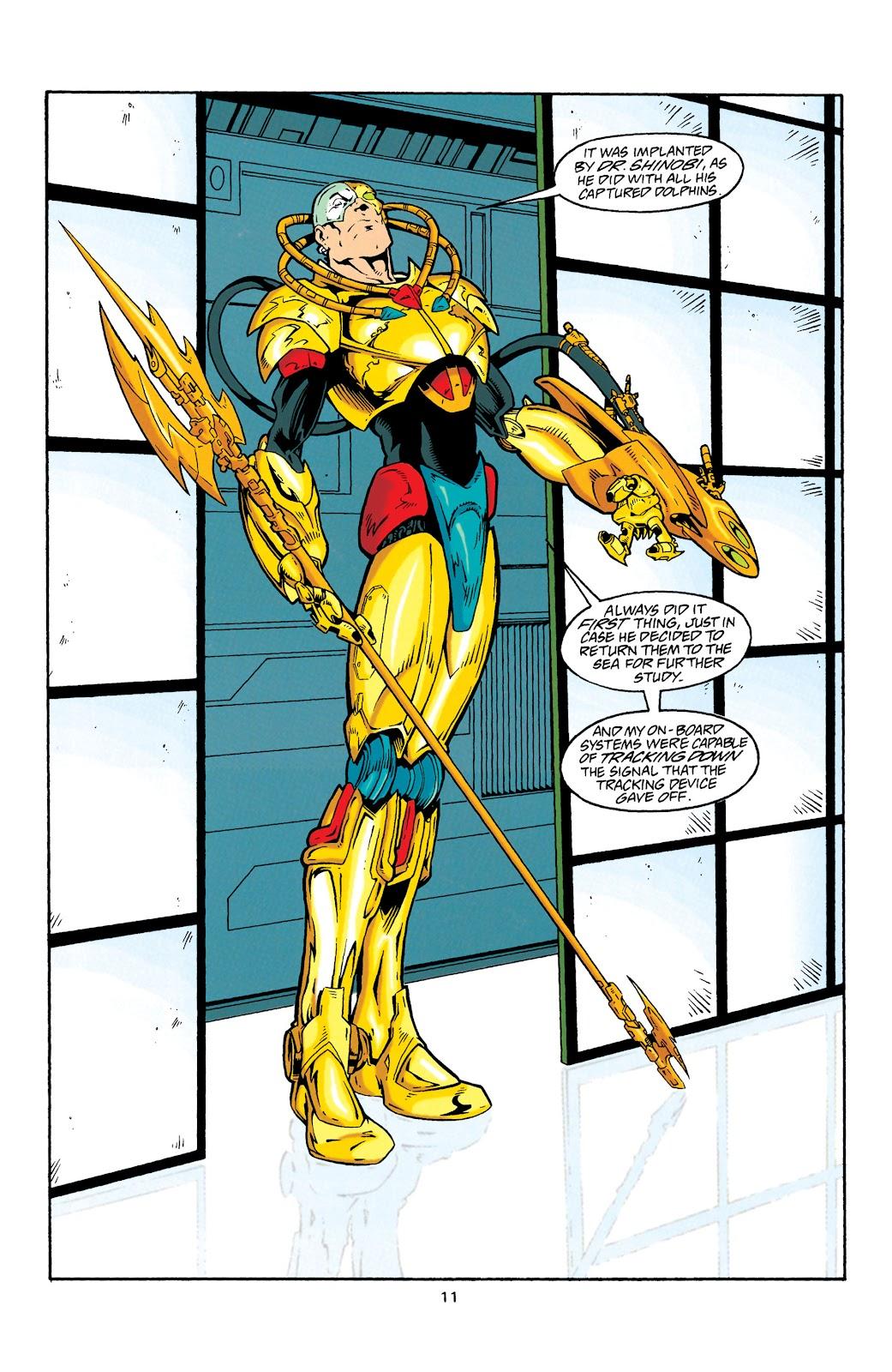 Aquaman (1994) Issue #27 #33 - English 12