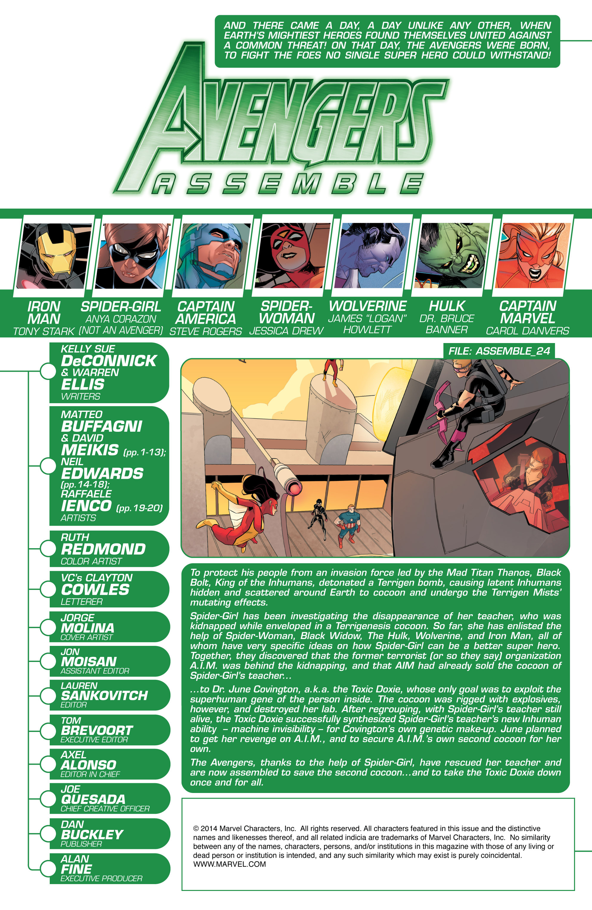 Read online Avengers Assemble (2012) comic -  Issue #25 - 2