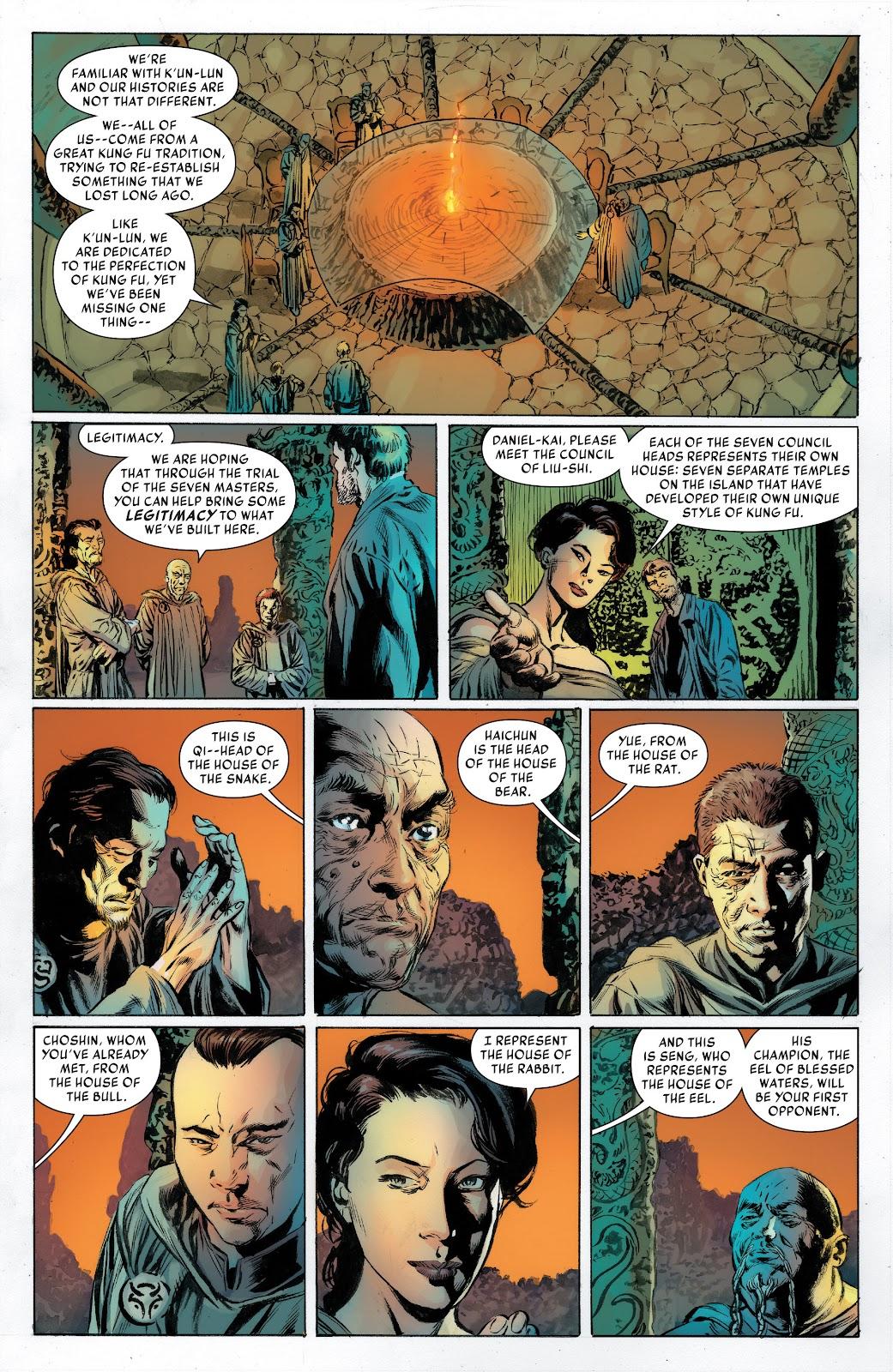 Iron Fist (2017) Issue #2 #2 - English 6