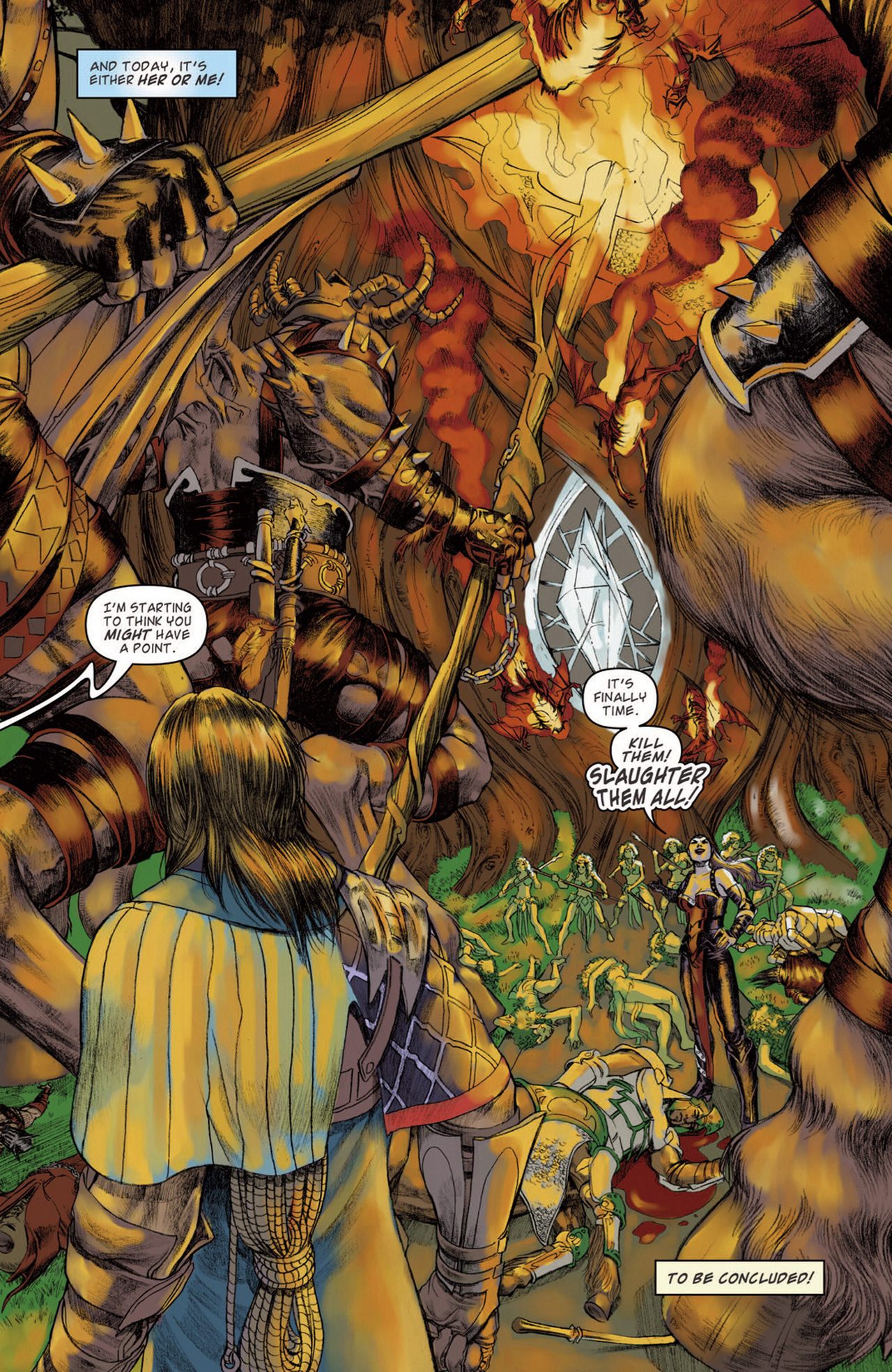 Read online Magic: The Gathering--Path of Vengeance comic -  Issue #3 - 24