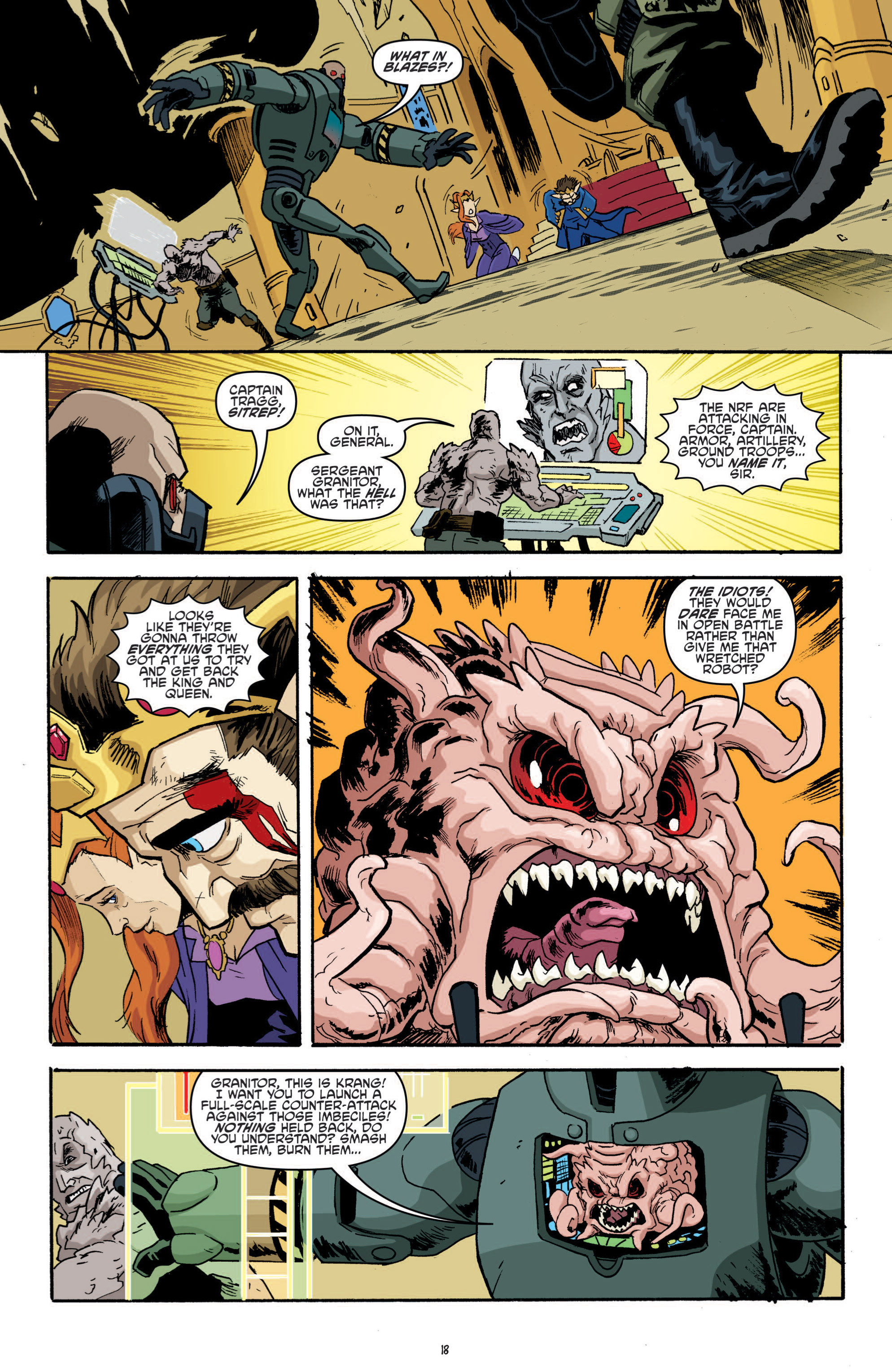 Read online Teenage Mutant Ninja Turtles (2011) comic -  Issue #19 - 22