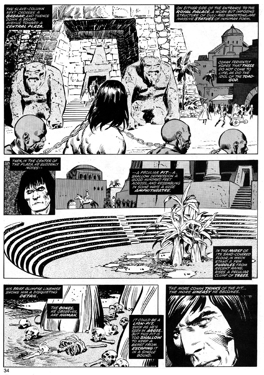 The Savage Sword Of Conan Issue #41 #42 - English 34