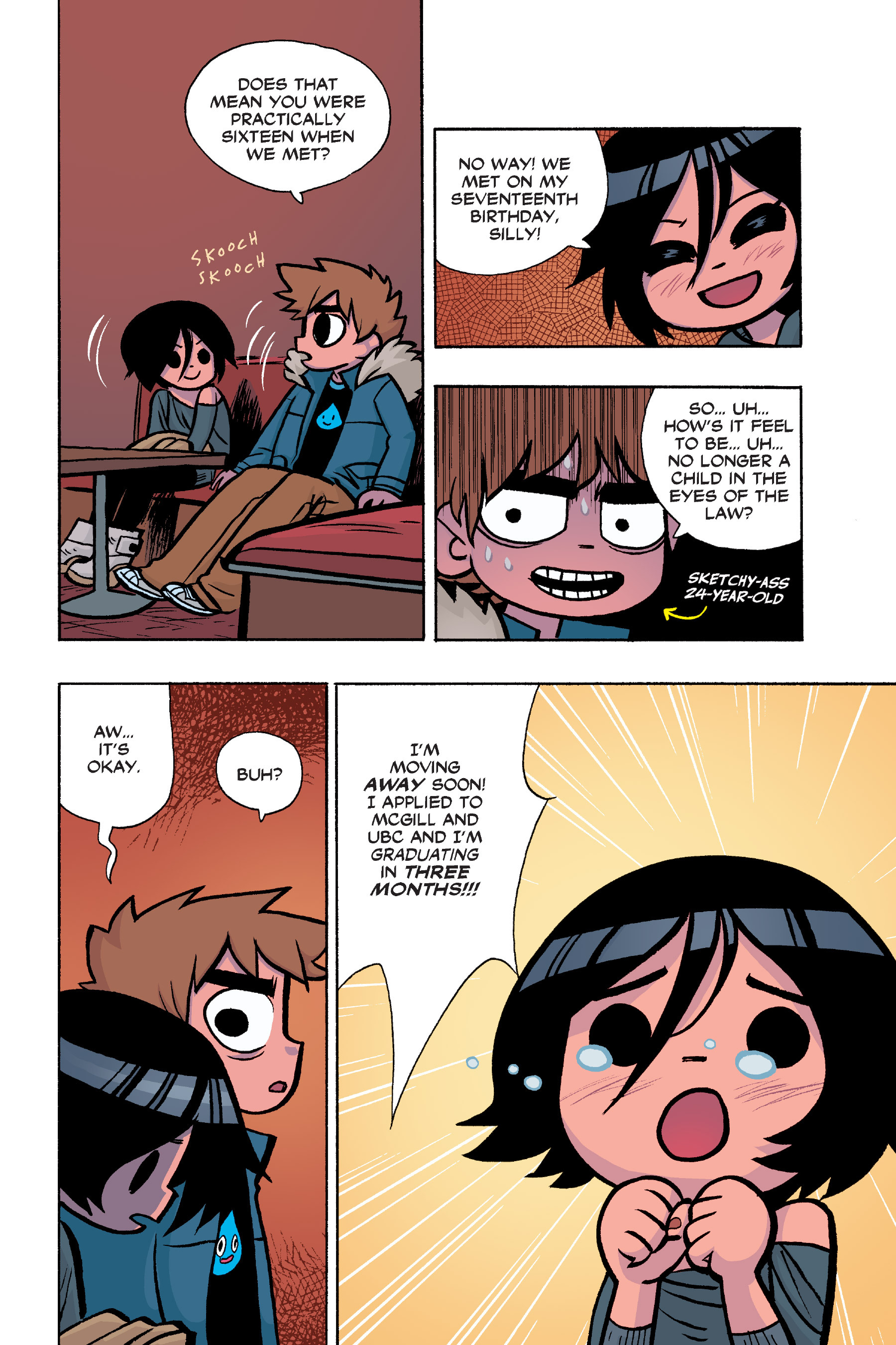 Read online Scott Pilgrim comic -  Issue #6 - 31