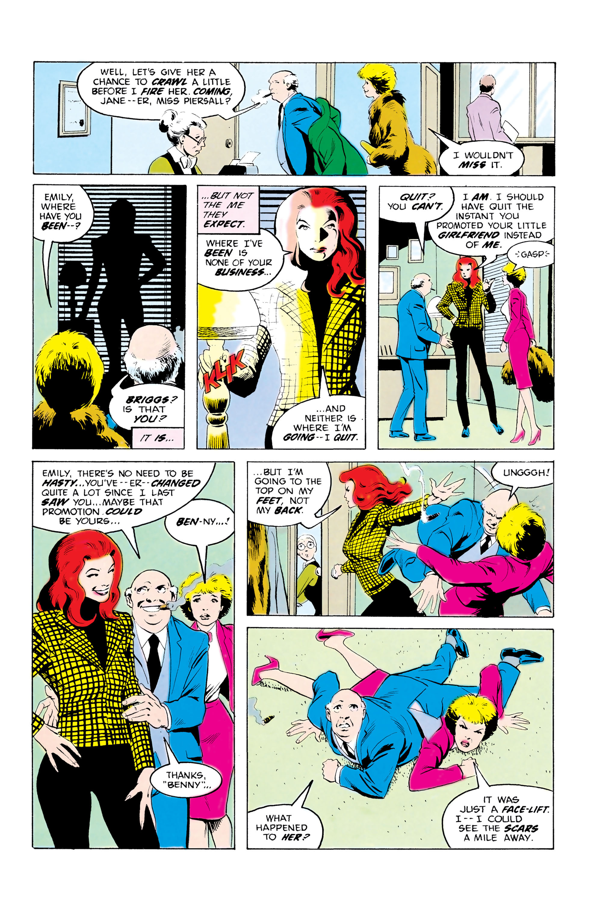 Batman and the Outsiders (1983) 32 Page 21