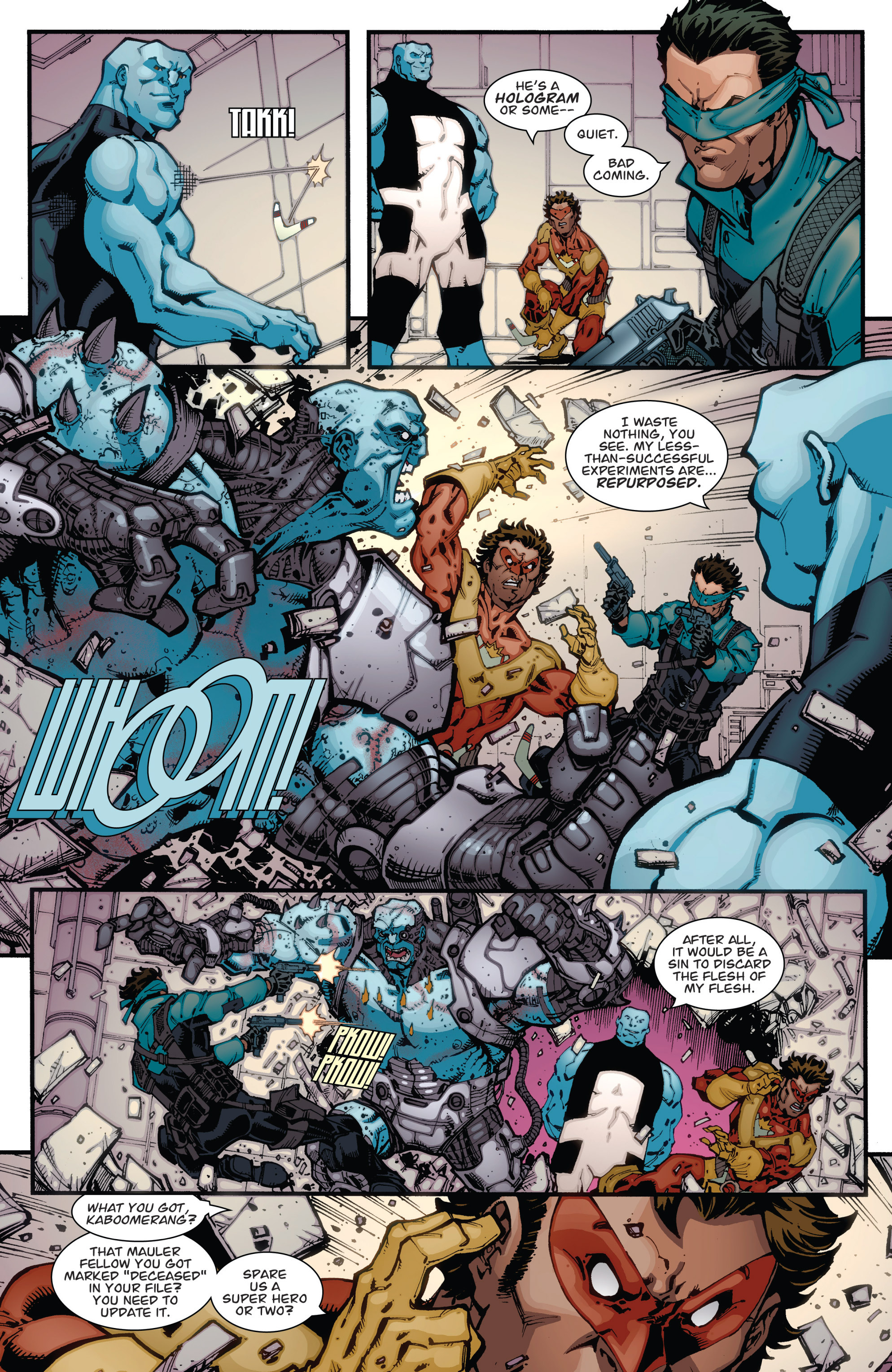 Read online Guarding the Globe (2012) comic -  Issue #2 - 9