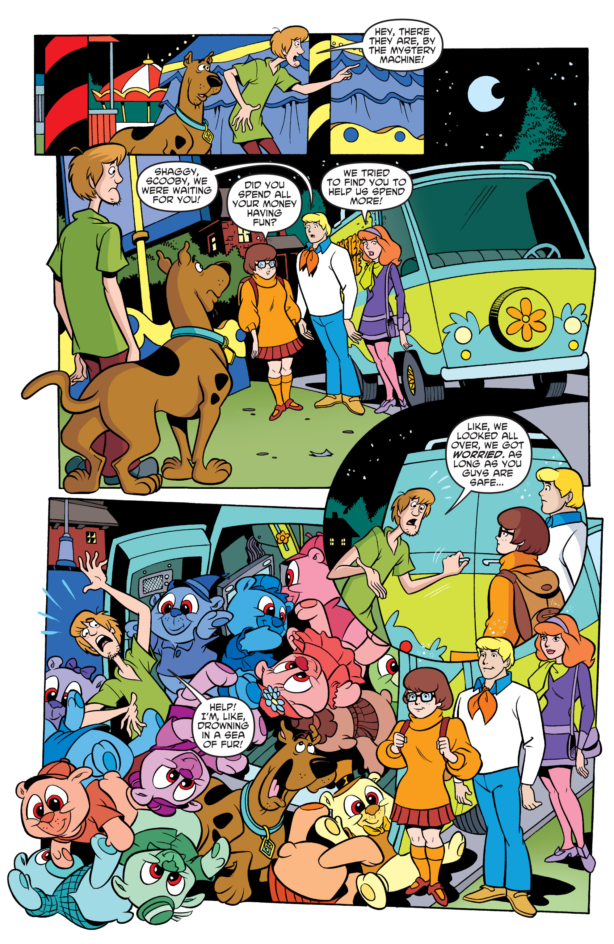 Read online Scooby-Doo: Where Are You? comic -  Issue #67 - 21