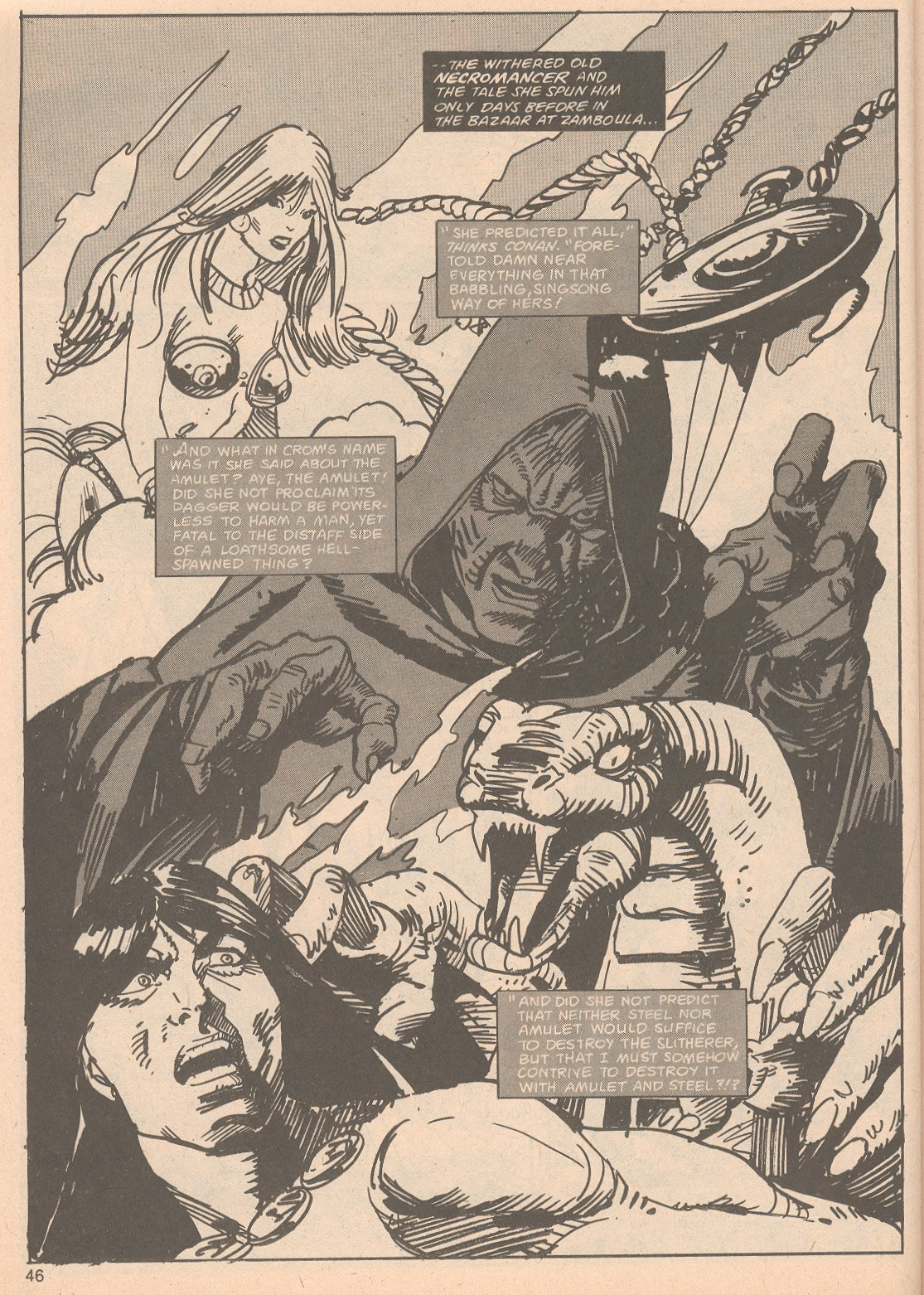 The Savage Sword Of Conan Issue #65 #66 - English 46