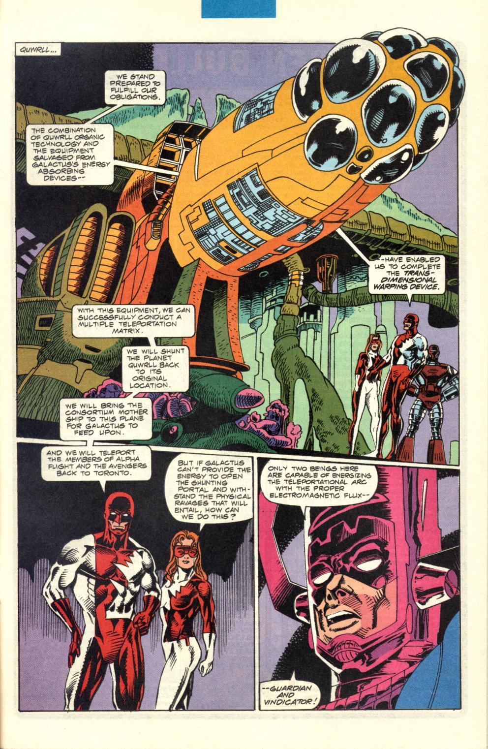 Alpha Flight (1983) 100 Page 31