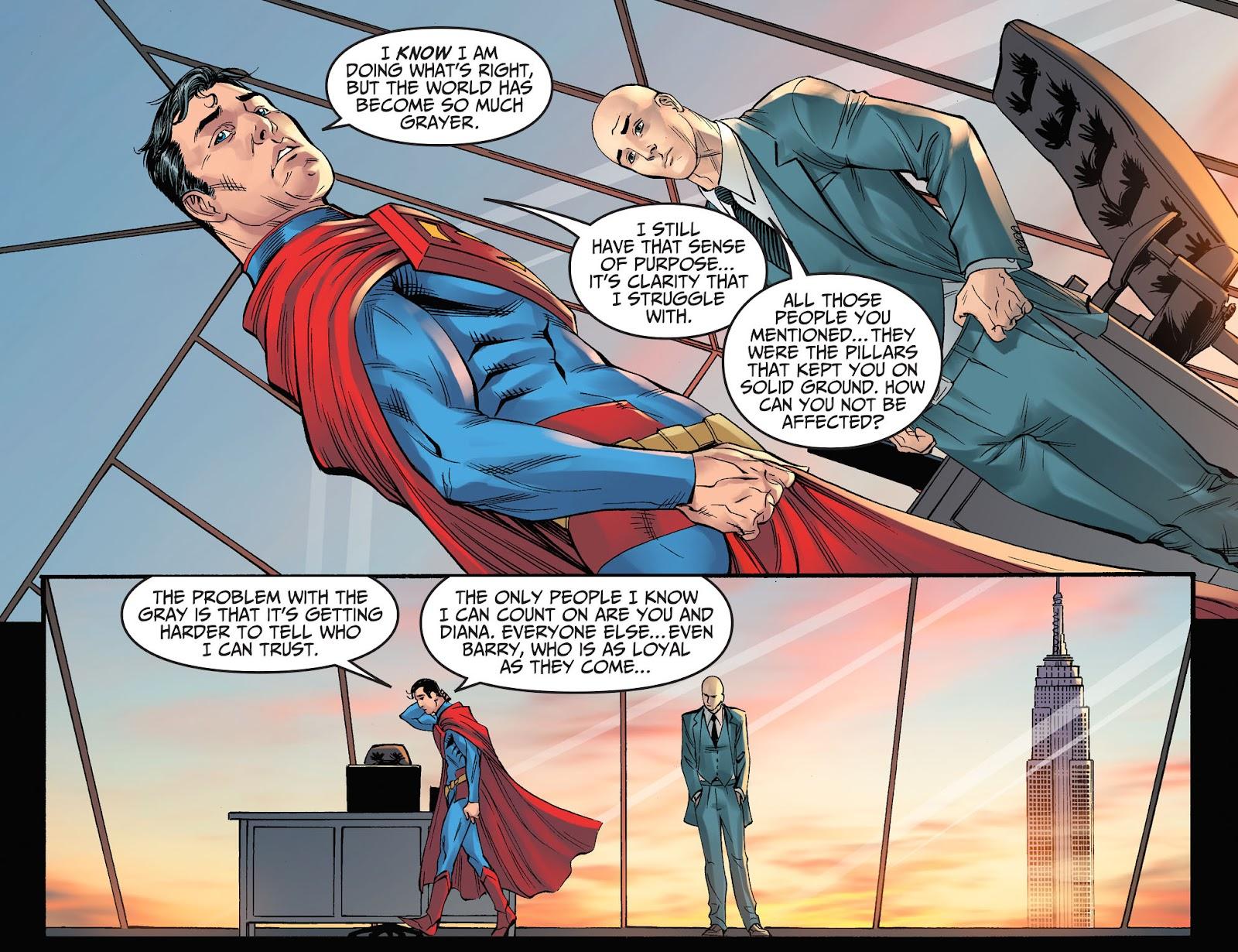 Injustice: Gods Among Us Year Four Issue #8 #9 - English 5
