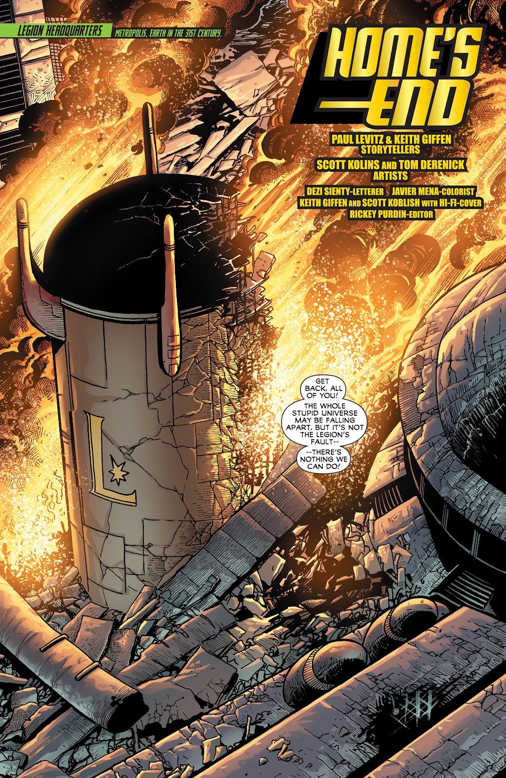 Legion of Super-Heroes (2011) Issue #18 #19 - English 2