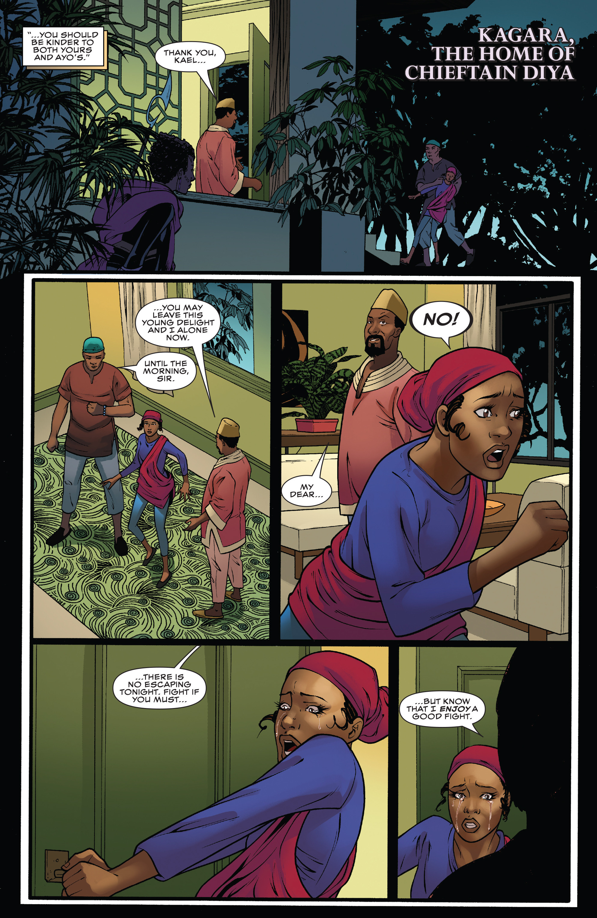 Read online Black Panther: World of Wakanda comic -  Issue #4 - 16