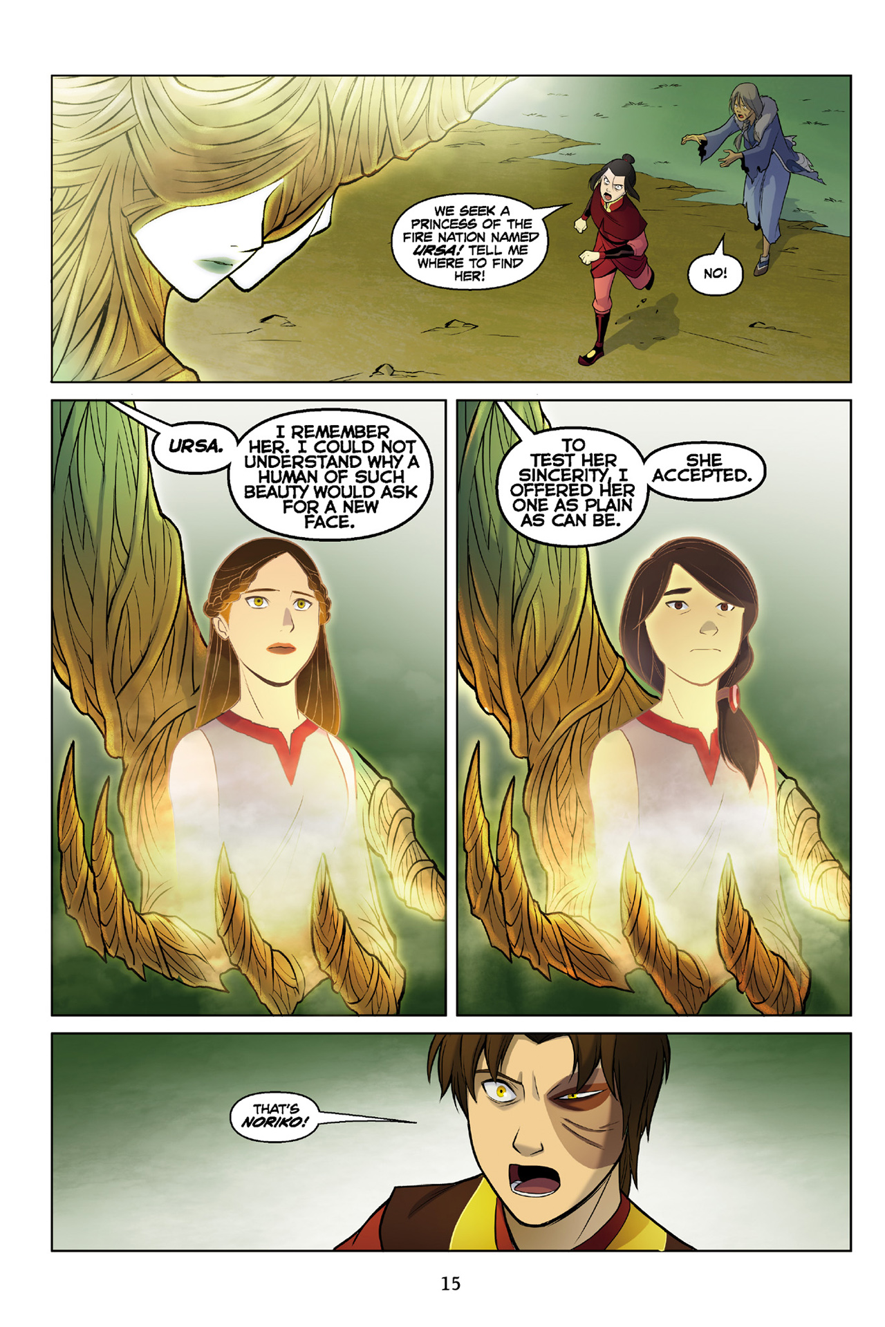 Read online Nickelodeon Avatar: The Last Airbender - The Search comic -  Issue # Part 3 - 16