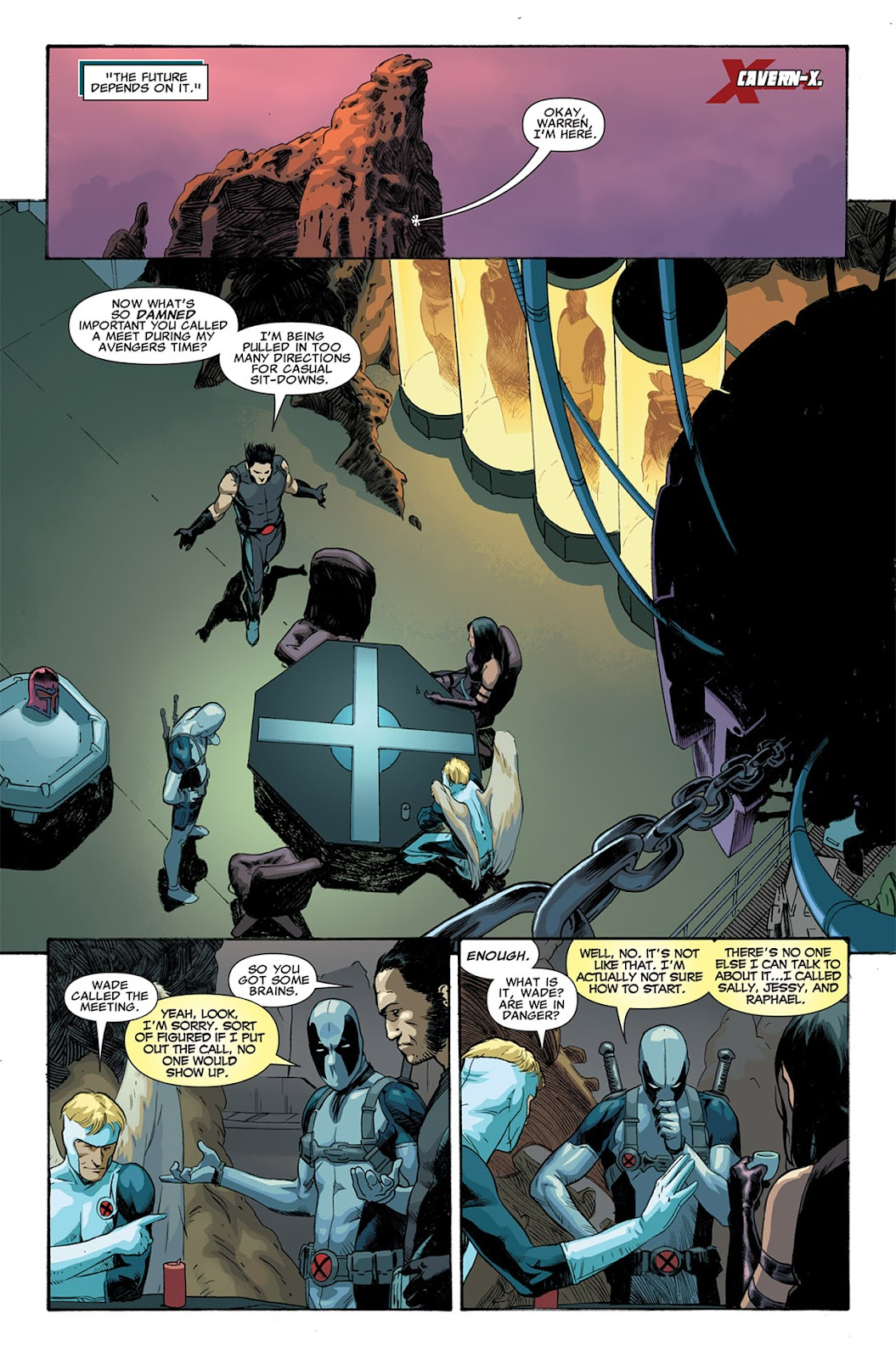 Uncanny X-Force (2010) Issue #5 #5 - English 8