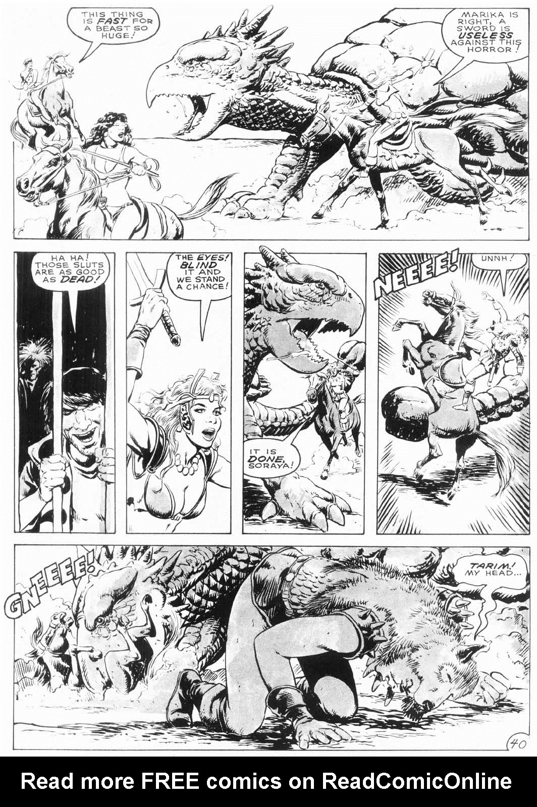 The Savage Sword Of Conan Issue #154 #155 - English 41