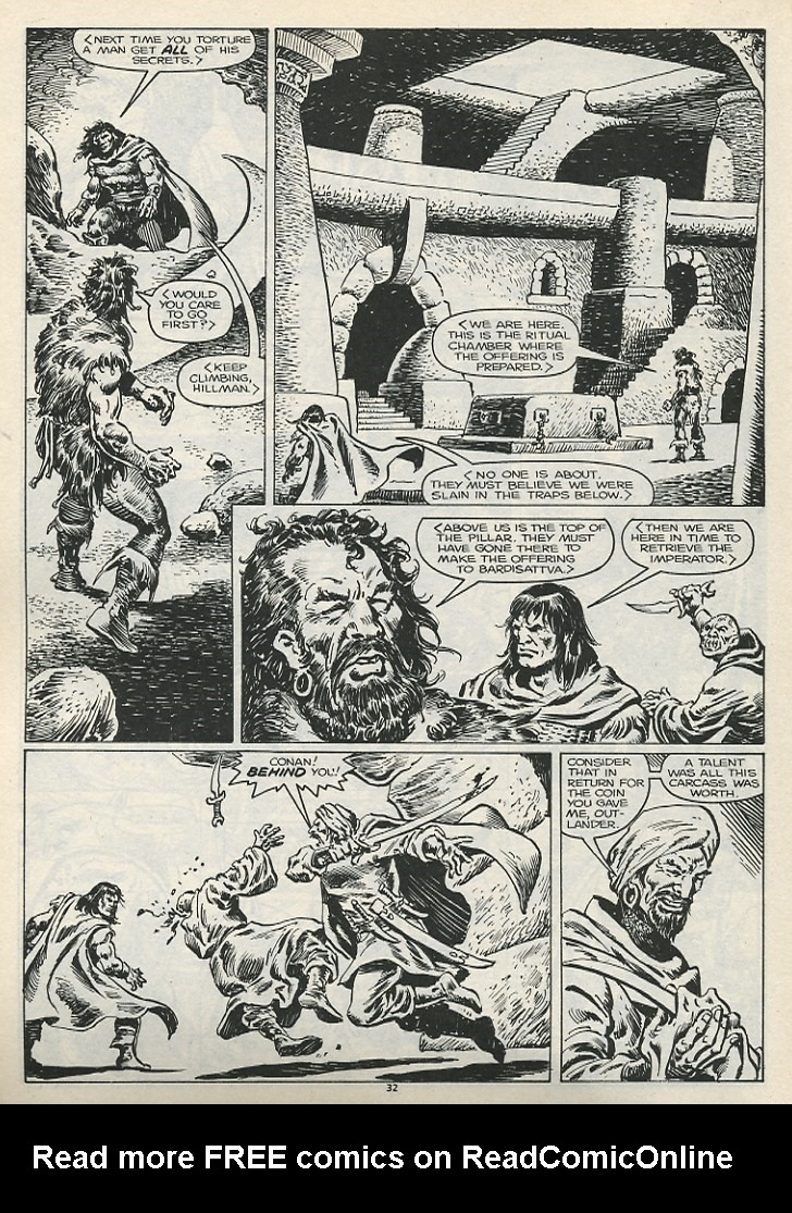 The Savage Sword Of Conan Issue #178 #179 - English 34