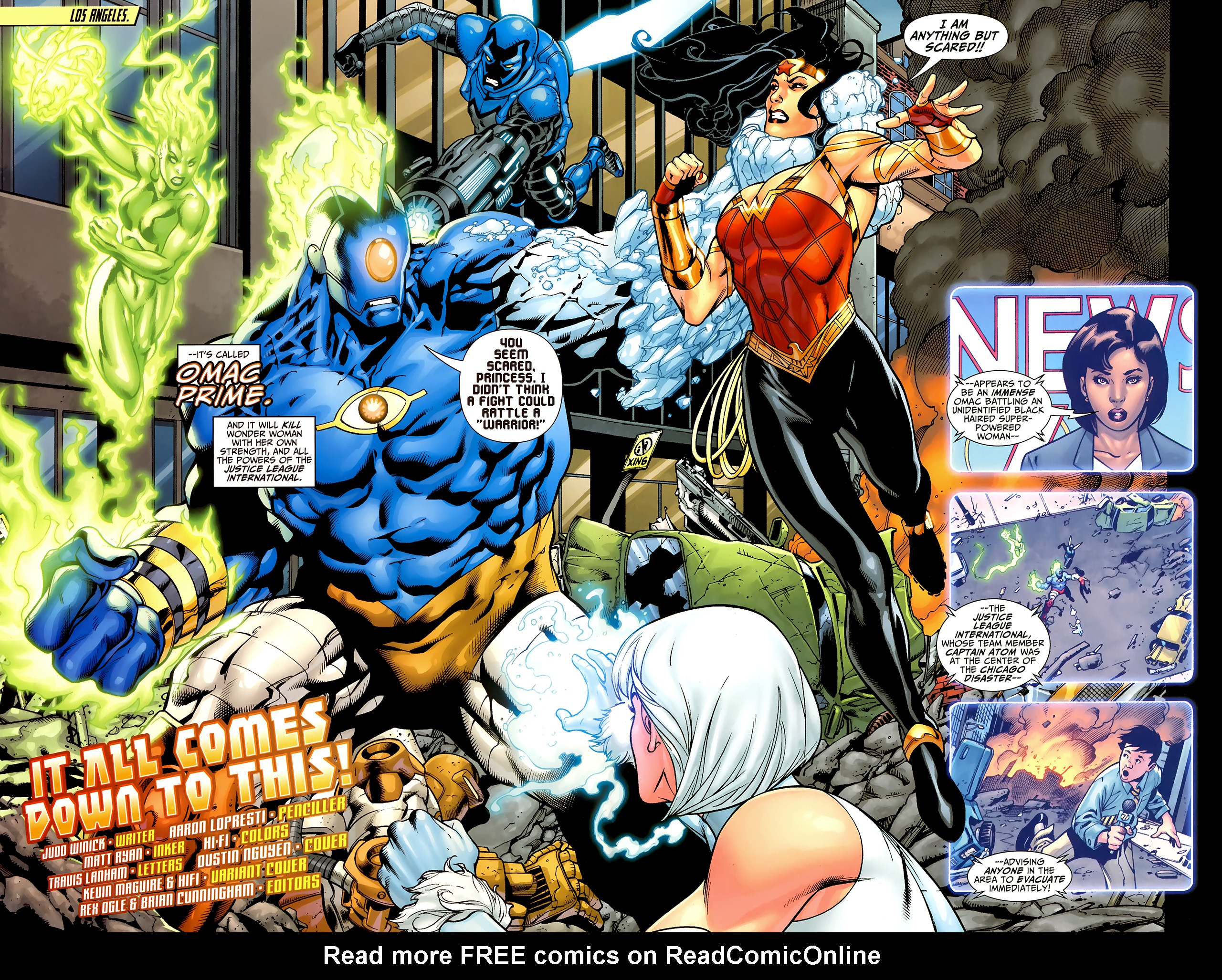 Read online Justice League: Generation Lost comic -  Issue #24 - 4