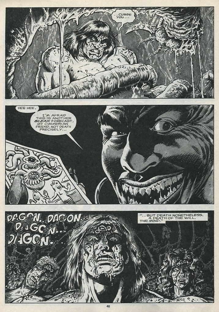 The Savage Sword Of Conan Issue #176 #177 - English 42