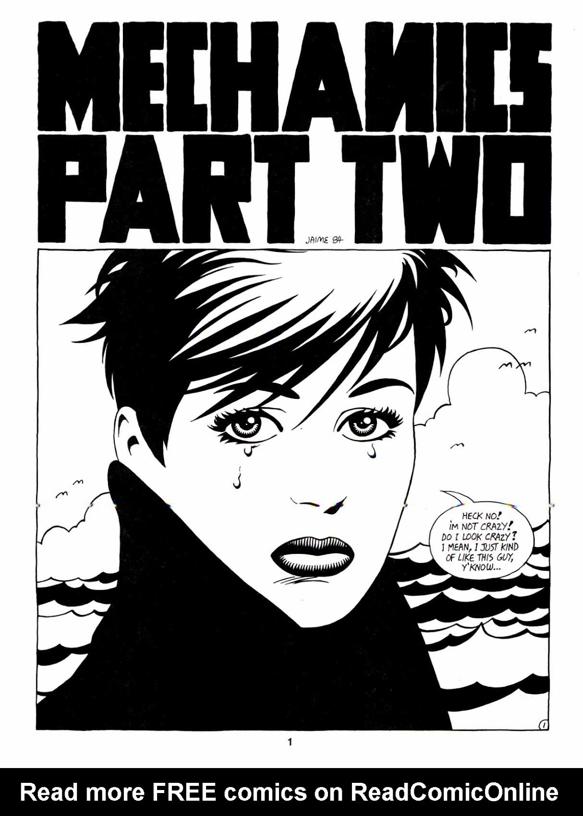 Love and Rockets (1982) Issue #7 #6 - English 3