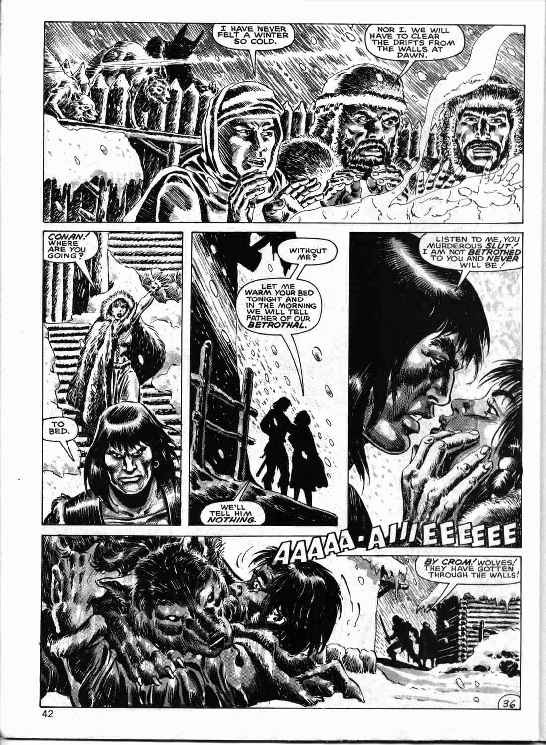 The Savage Sword Of Conan Issue #133 #134 - English 41