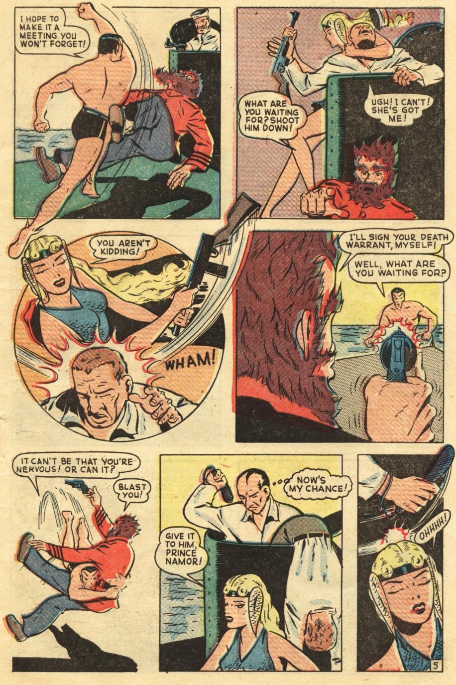 Sub-Mariner Comics #25 #25 - English 7