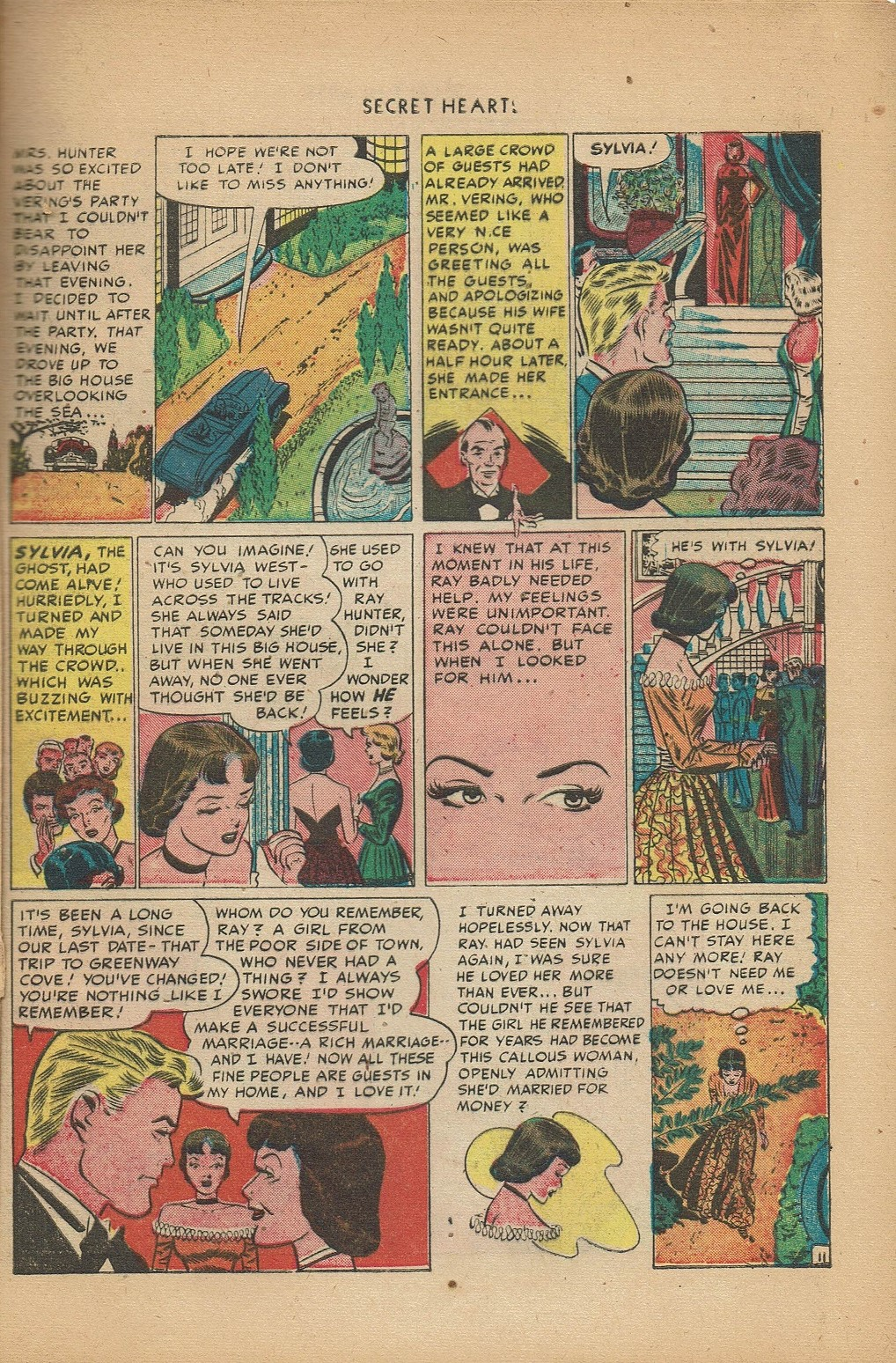 Read online Secret Hearts comic -  Issue #2 - 21