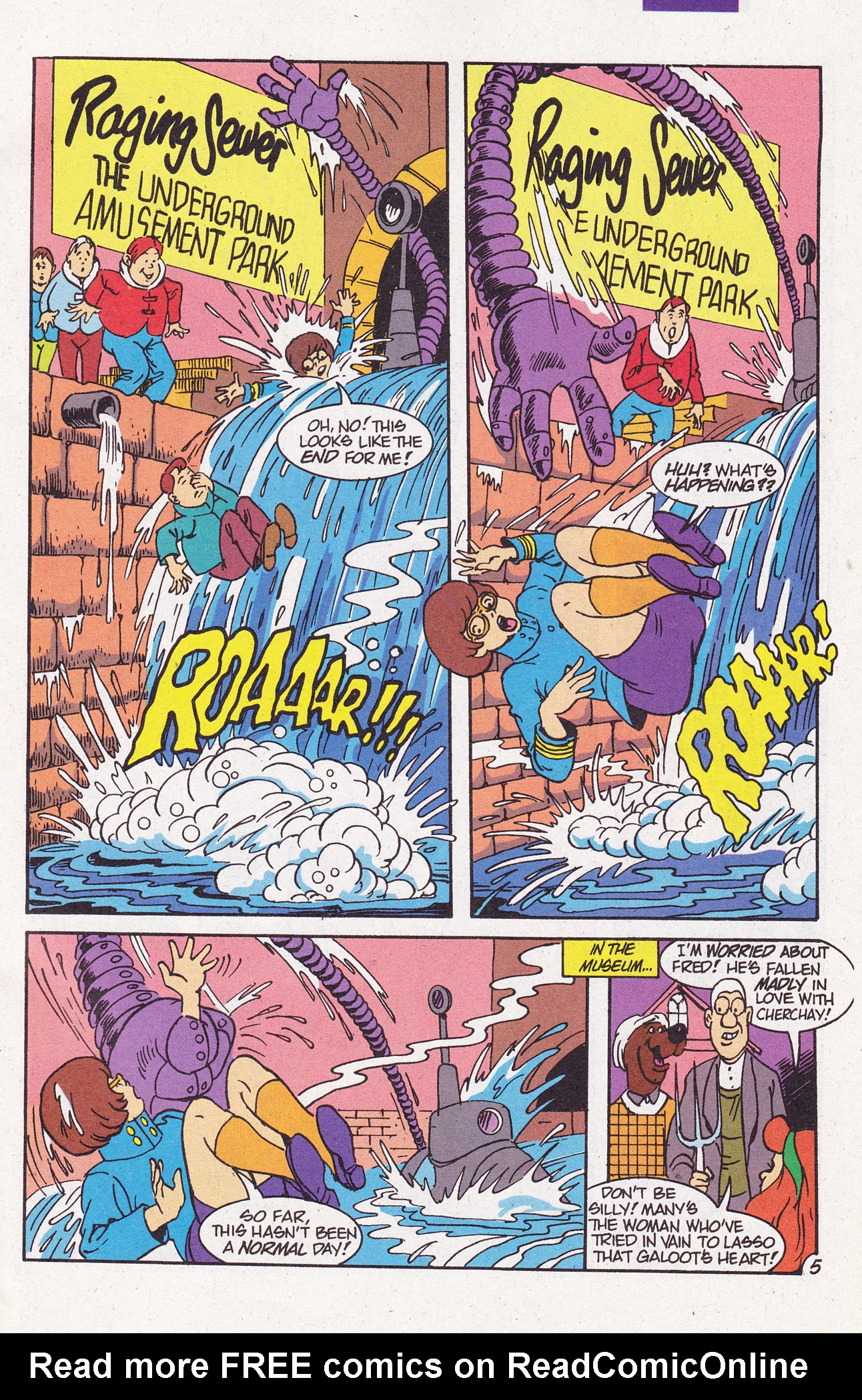 Read online Scooby-Doo (1995) comic -  Issue #7 - 7