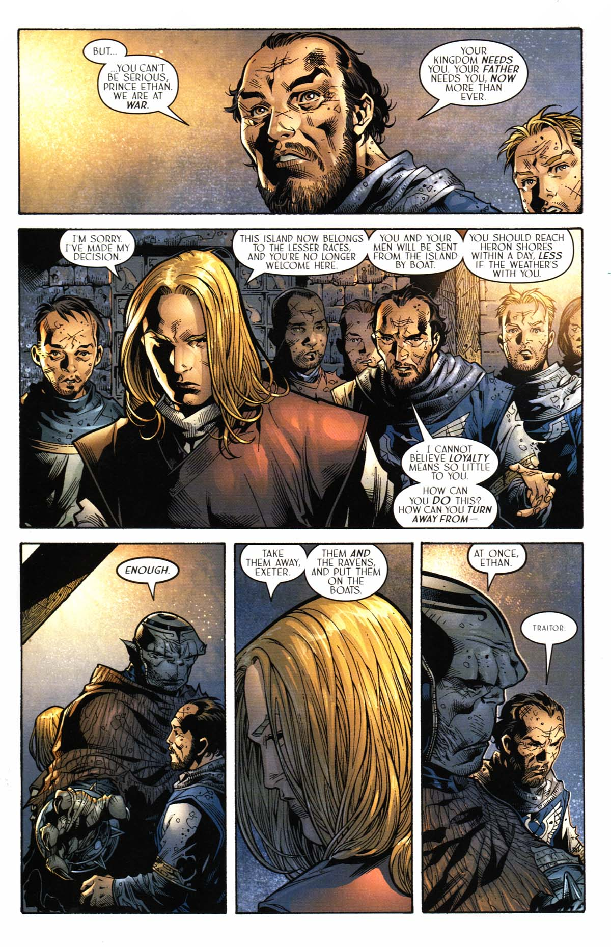 Read online Scion comic -  Issue #23 - 16