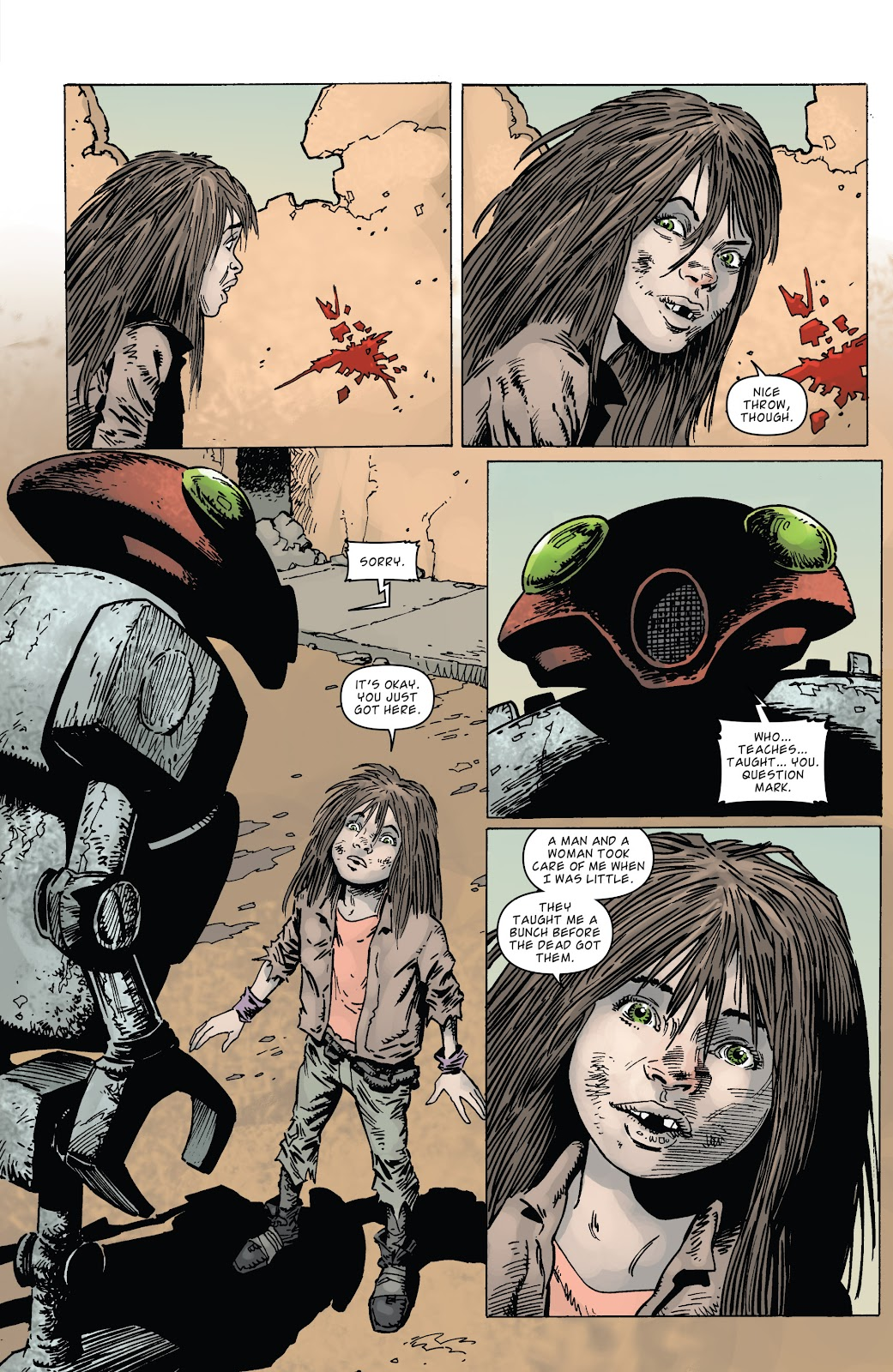 Zombies vs Robots (2015) Issue #2 Page 16