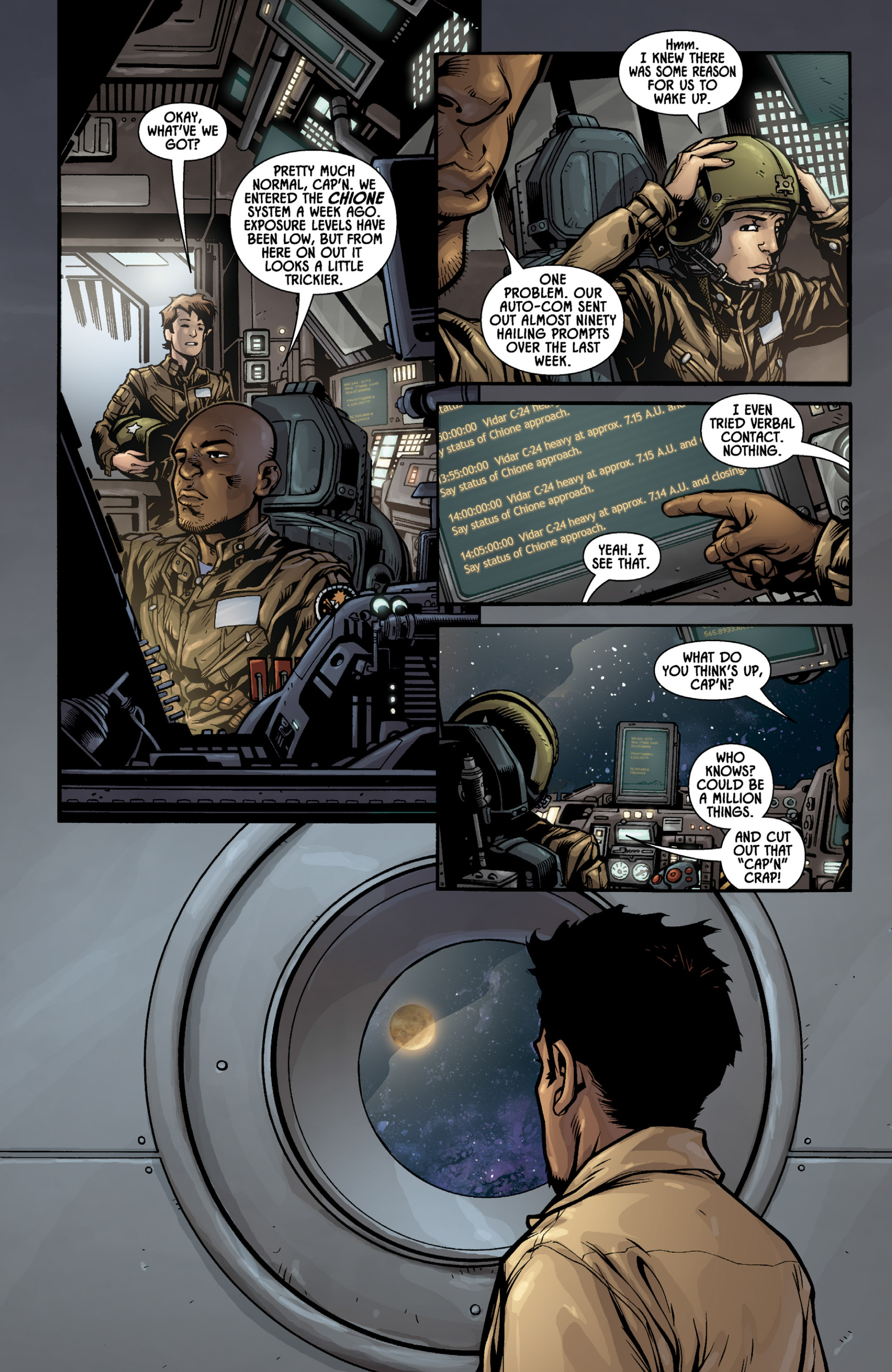 Aliens (2009) TPB Page 19