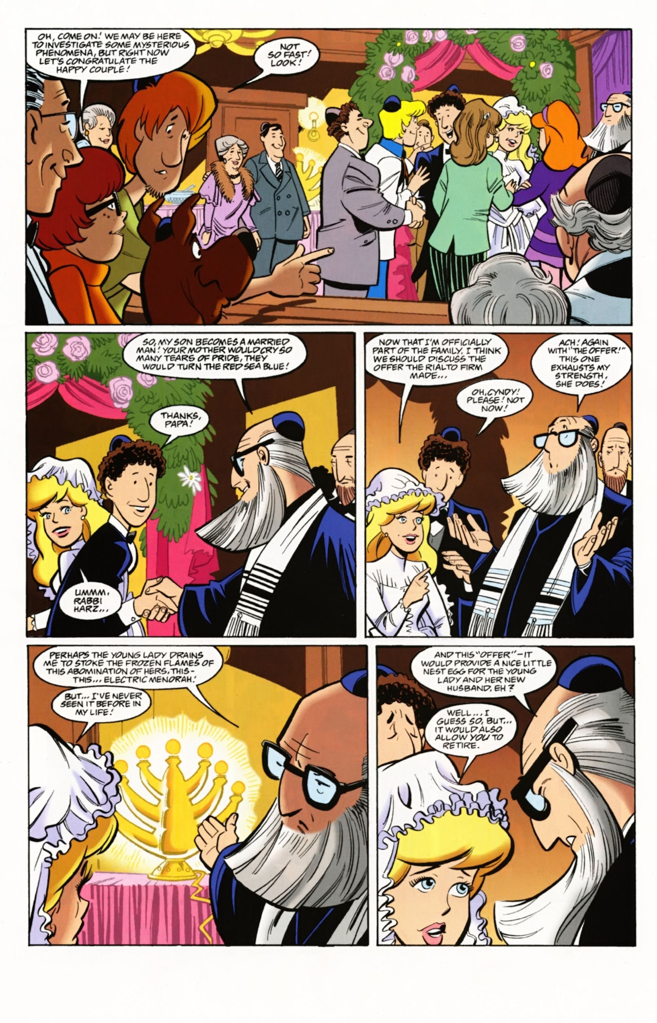 Read online Scooby-Doo: Where Are You? comic -  Issue #4 - 14