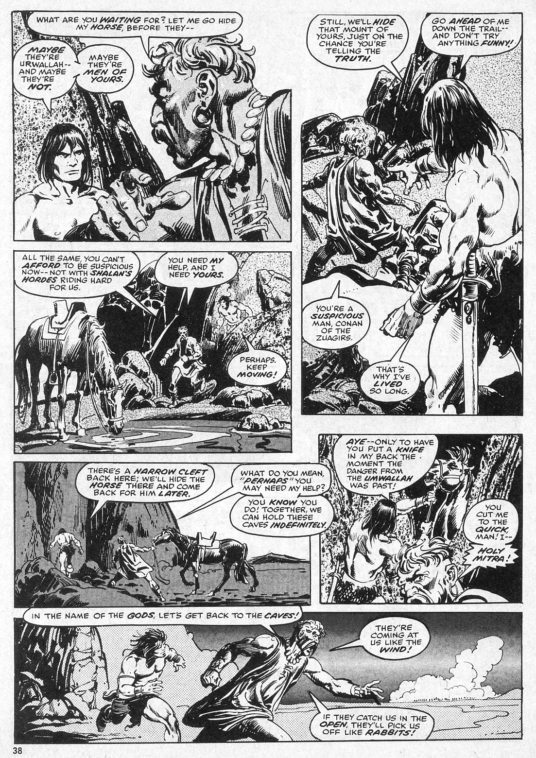 The Savage Sword Of Conan Issue #28 #29 - English 38