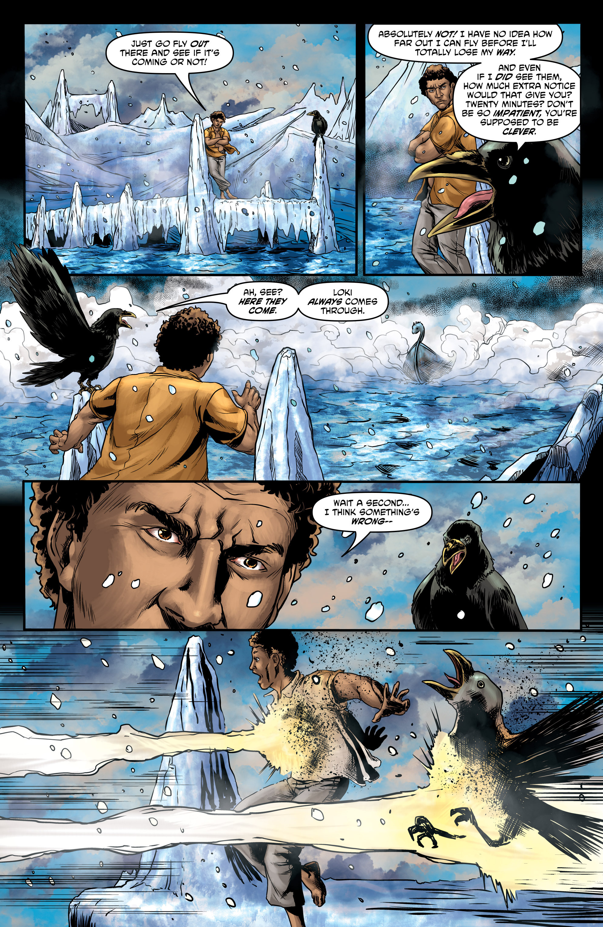 Read online God Is Dead comic -  Issue #47 - 16