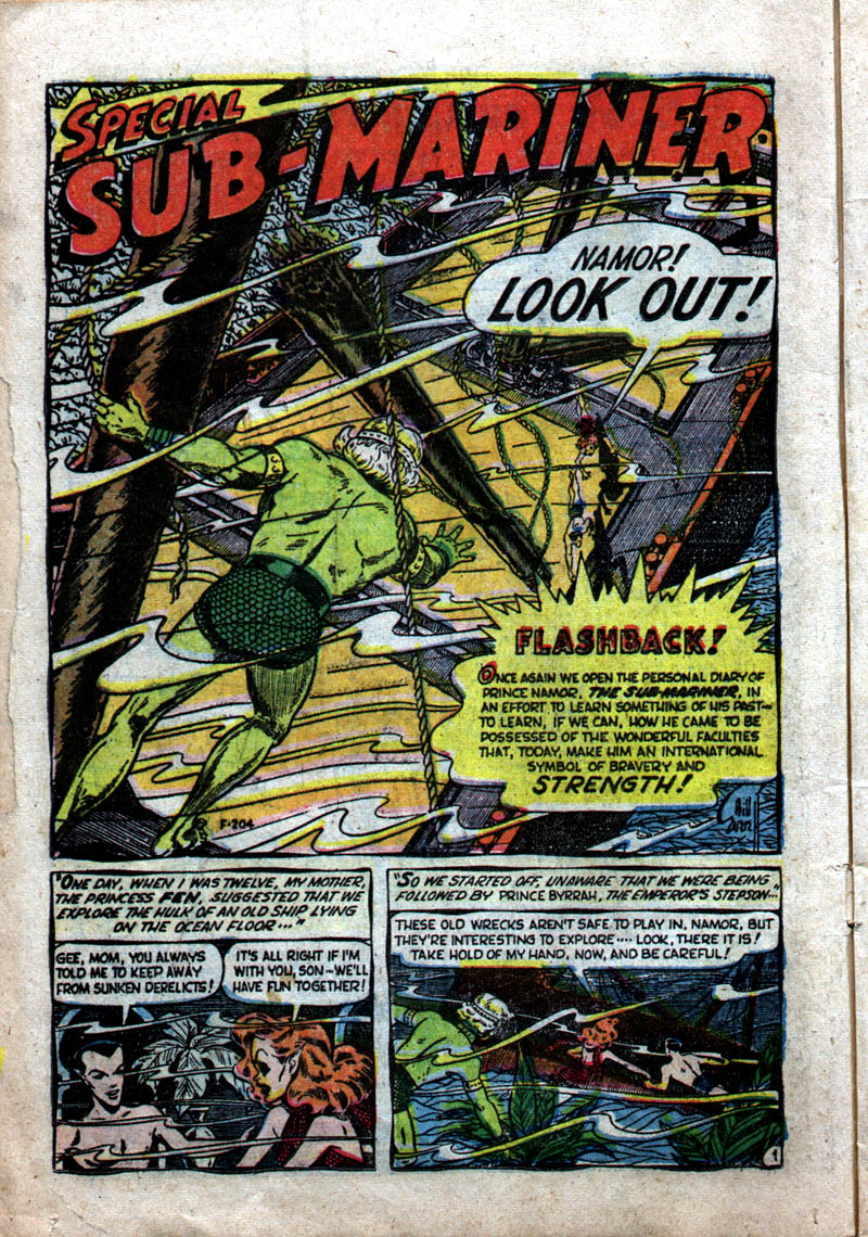 Sub-Mariner Comics #37 #37 - English 12
