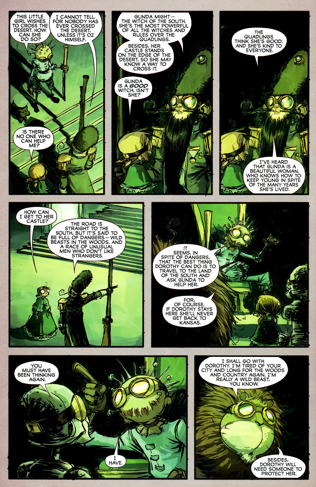 Read online The Wonderful Wizard of Oz comic -  Issue #7 - 17