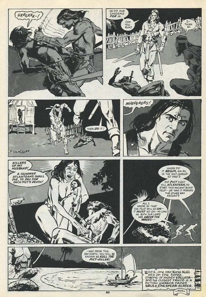 The Savage Sword Of Conan Issue #193 #194 - English 62