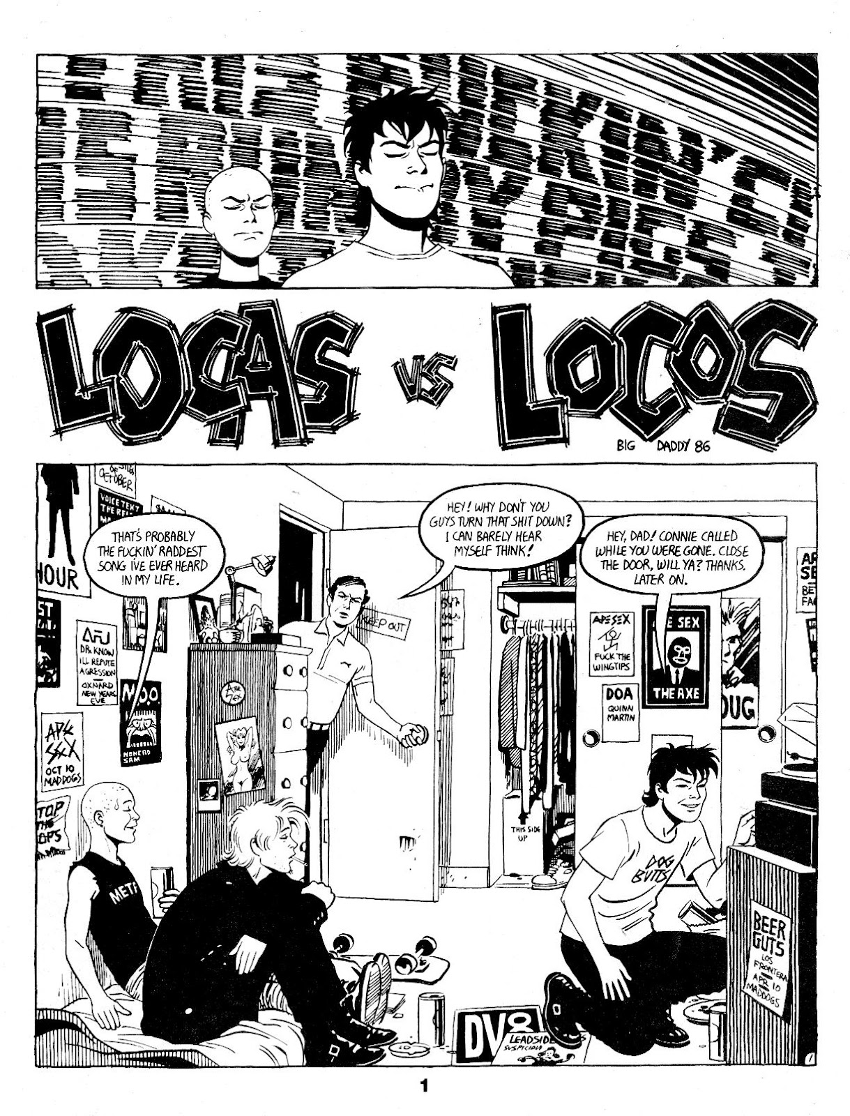 Love and Rockets (1982) Issue #17 #16 - English 3