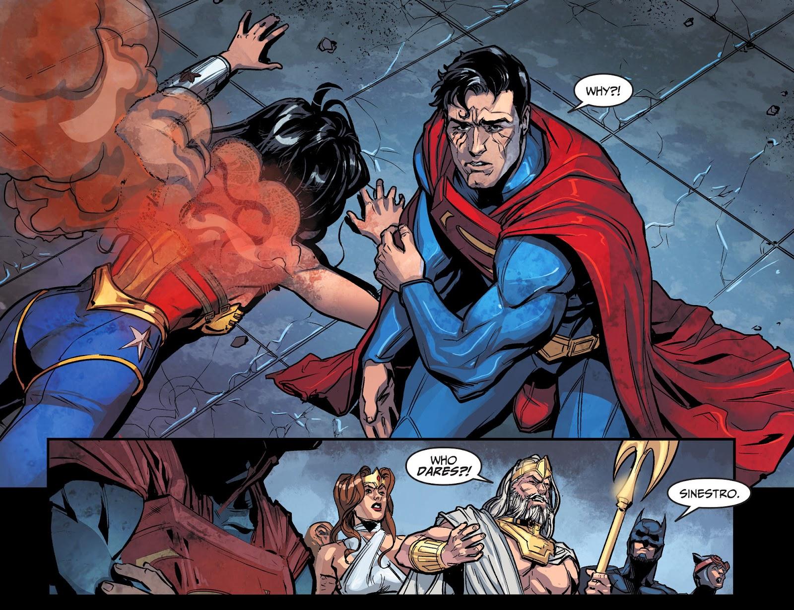 Injustice: Gods Among Us Year Four Issue #10 #11 - English 4