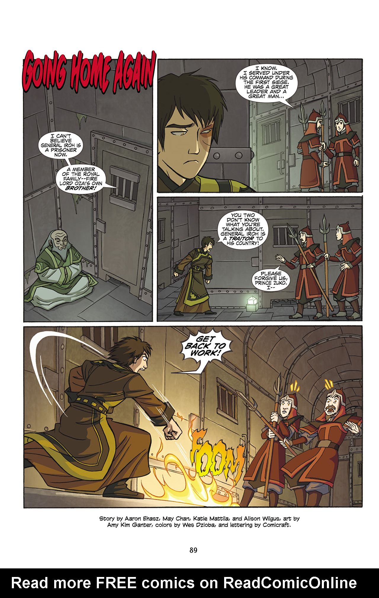 Nickelodeon Avatar: The Last Airbender - The Lost Adventures chap full pic 90