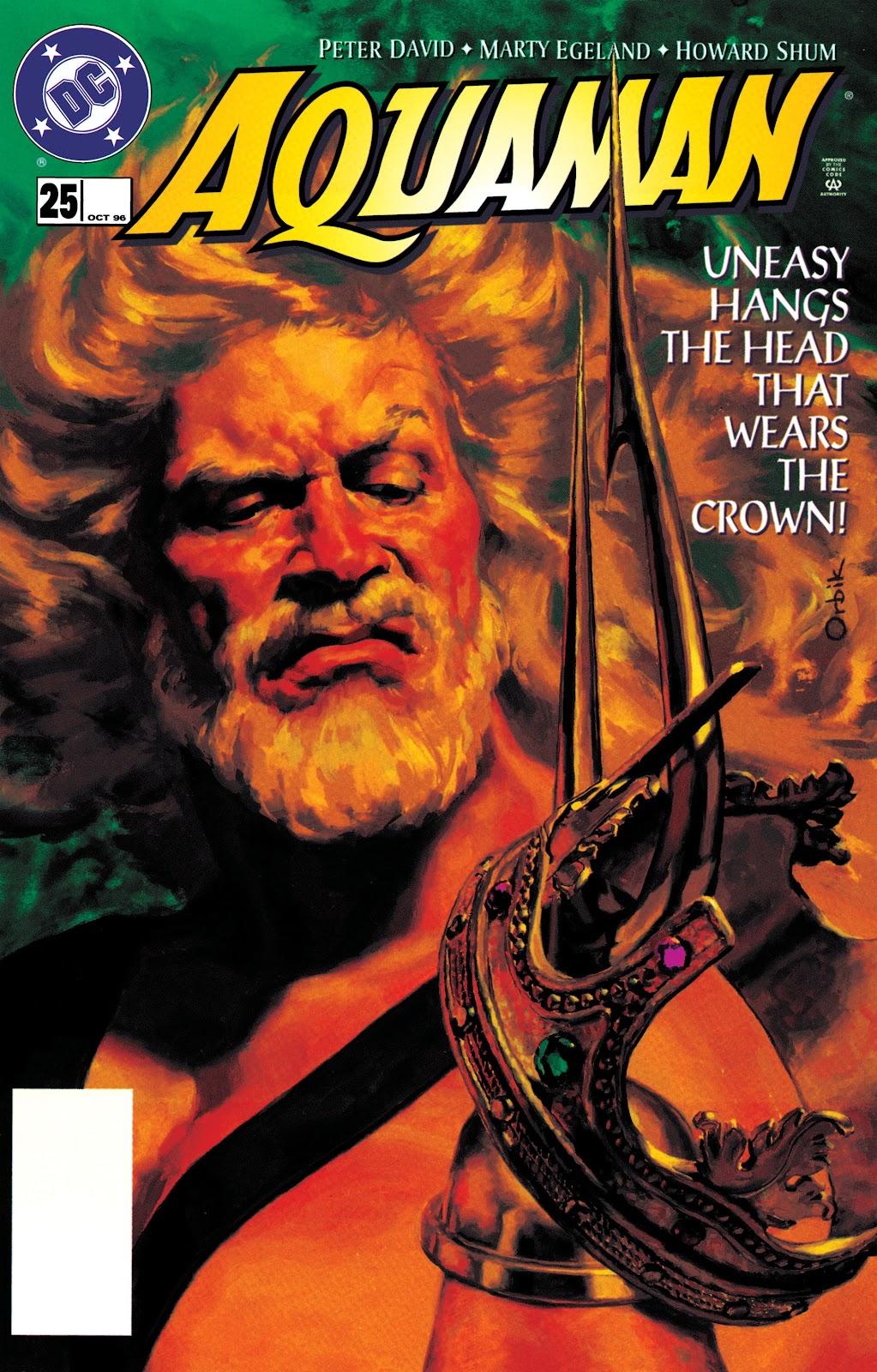 Aquaman (1994) Issue #25 #31 - English 1