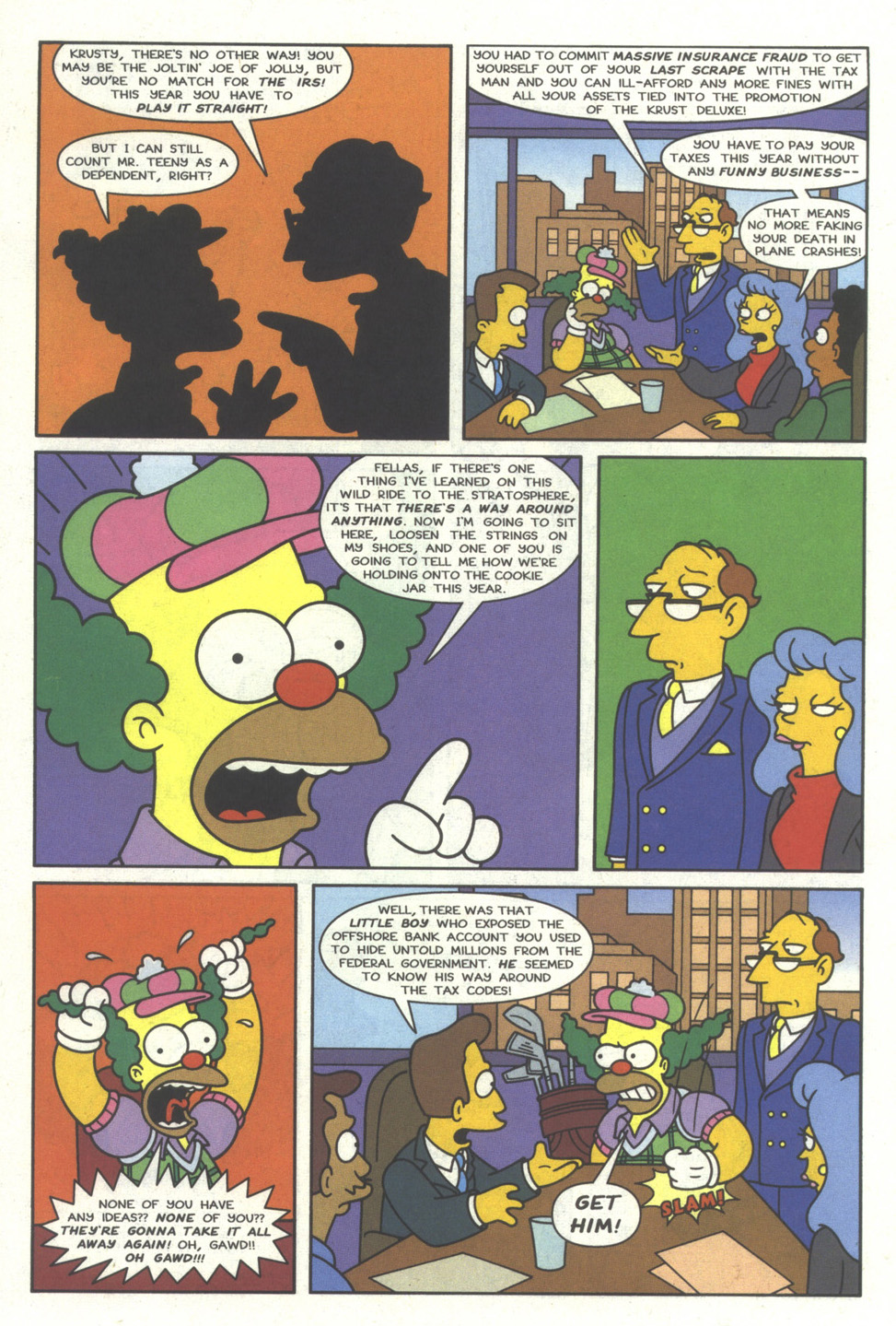Read online Simpsons Comics comic -  Issue #28 - 5