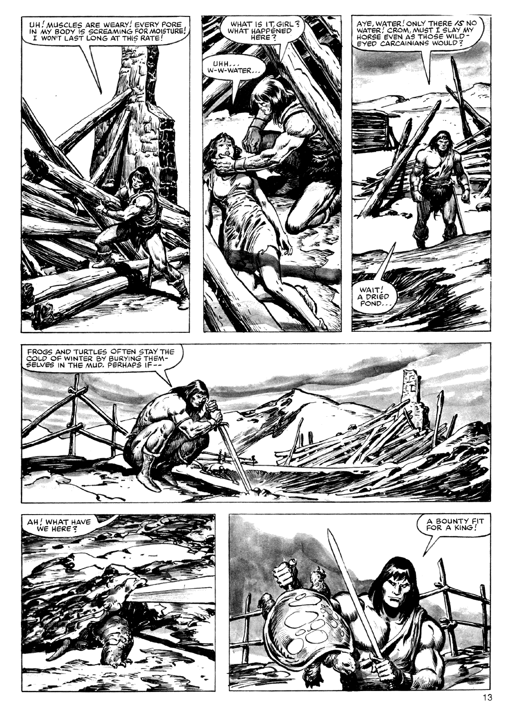 Of Conan  #164 - English 13