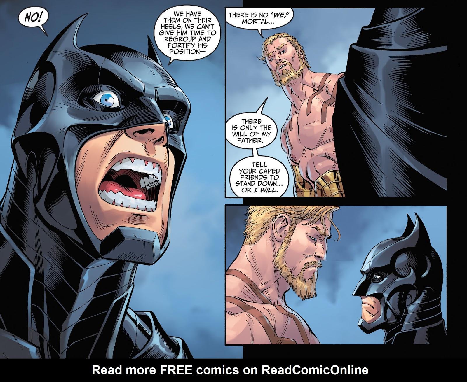 Injustice: Gods Among Us Year Four Issue #11 #12 - English 21