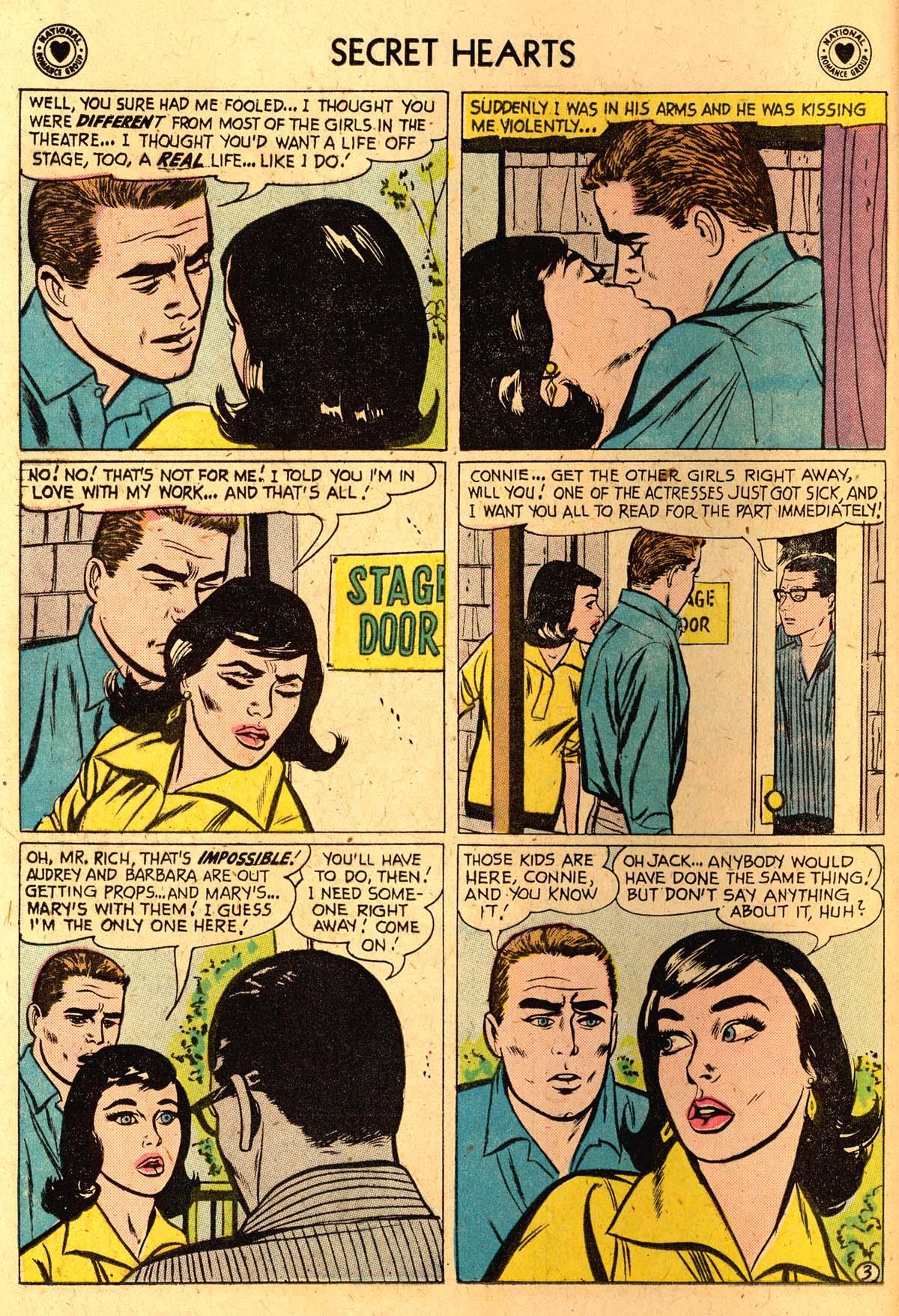 Read online Secret Hearts comic -  Issue #52 - 12