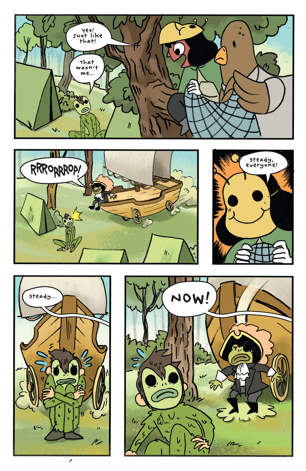 Over the Garden Wall (2016) Issue #11 #11 - English 21